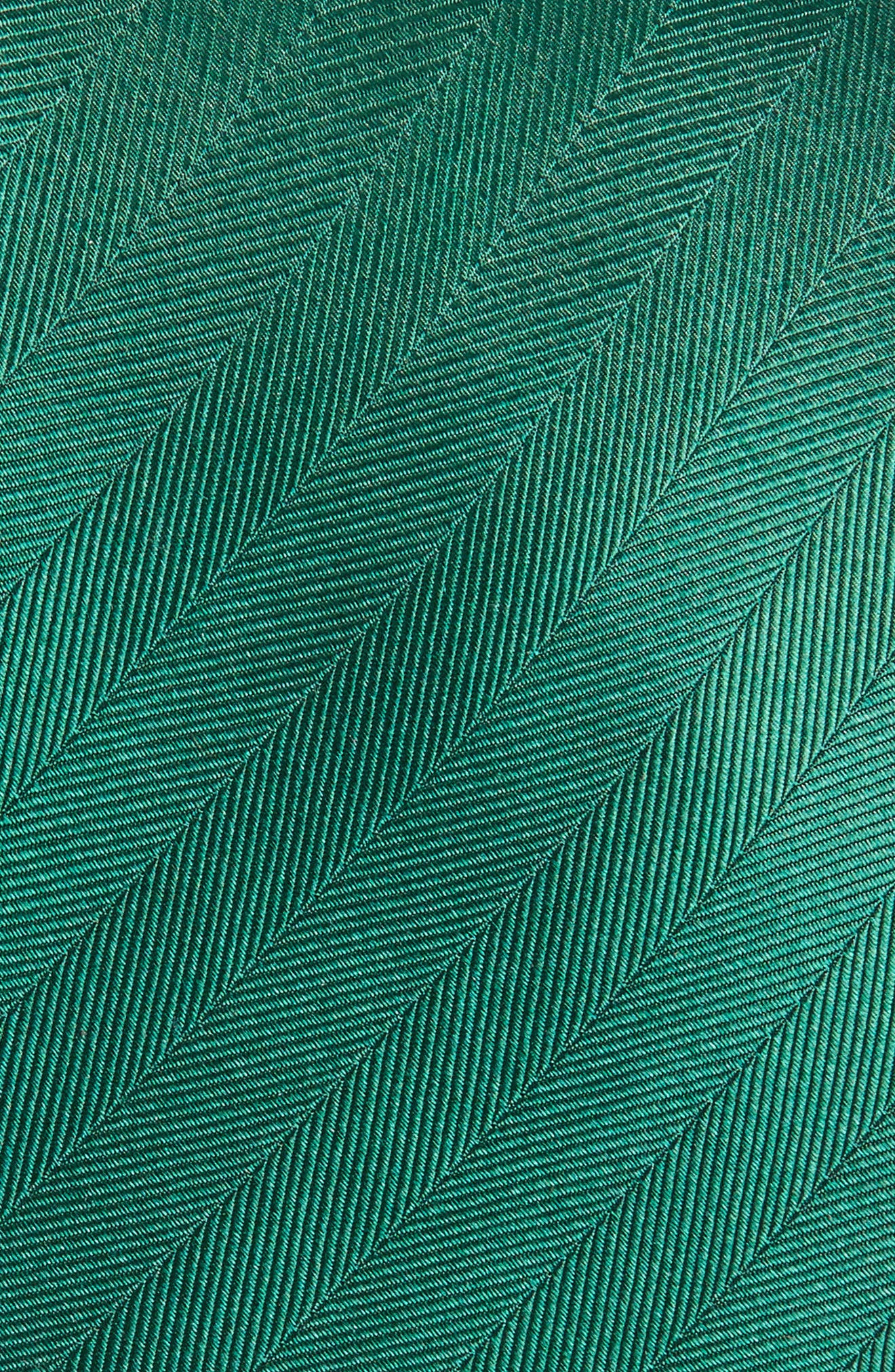 Herringbone Silk Tie,                             Alternate thumbnail 10, color,