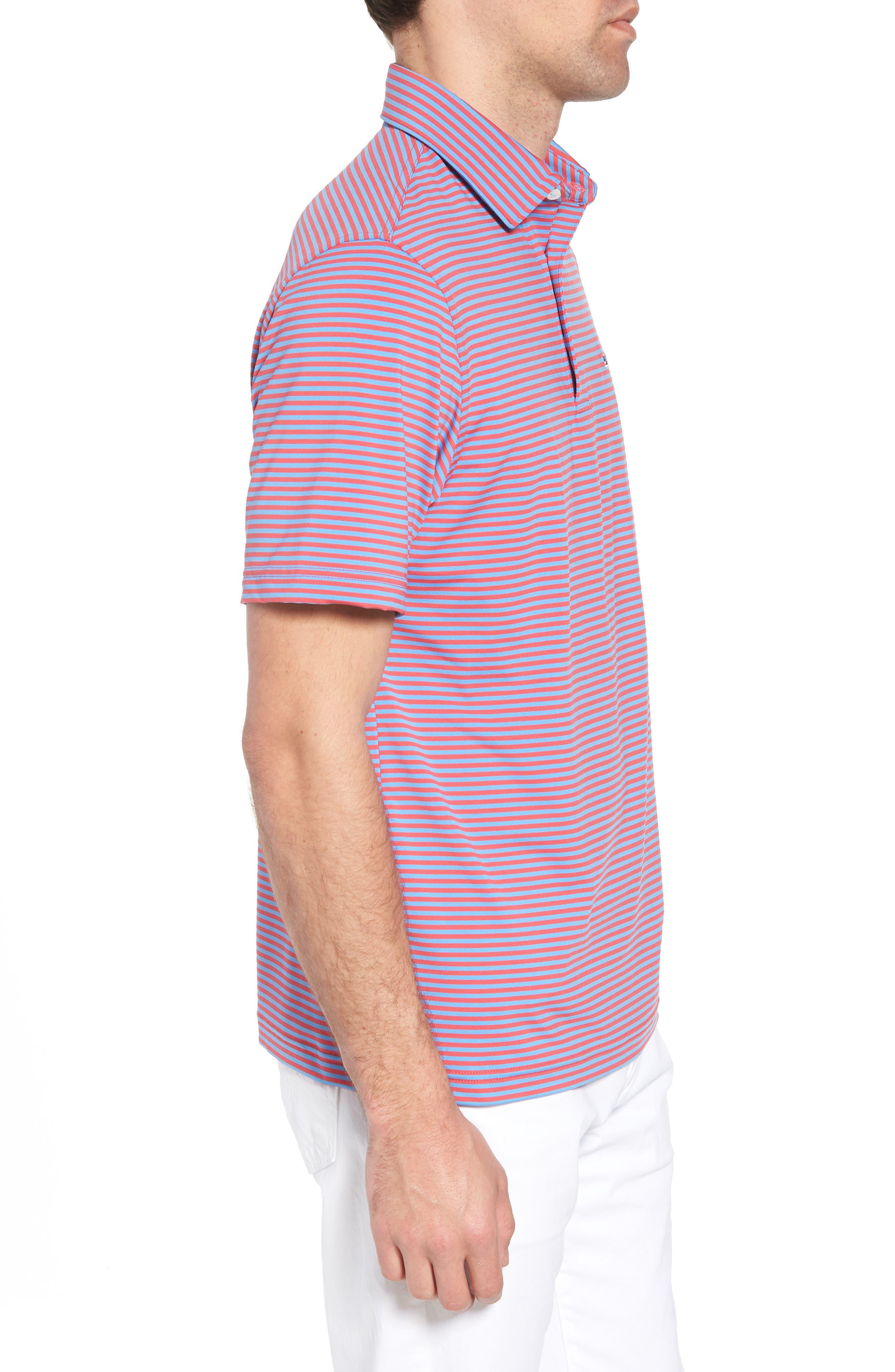 Kennedy Stripe Golf Polo,                             Alternate thumbnail 44, color,