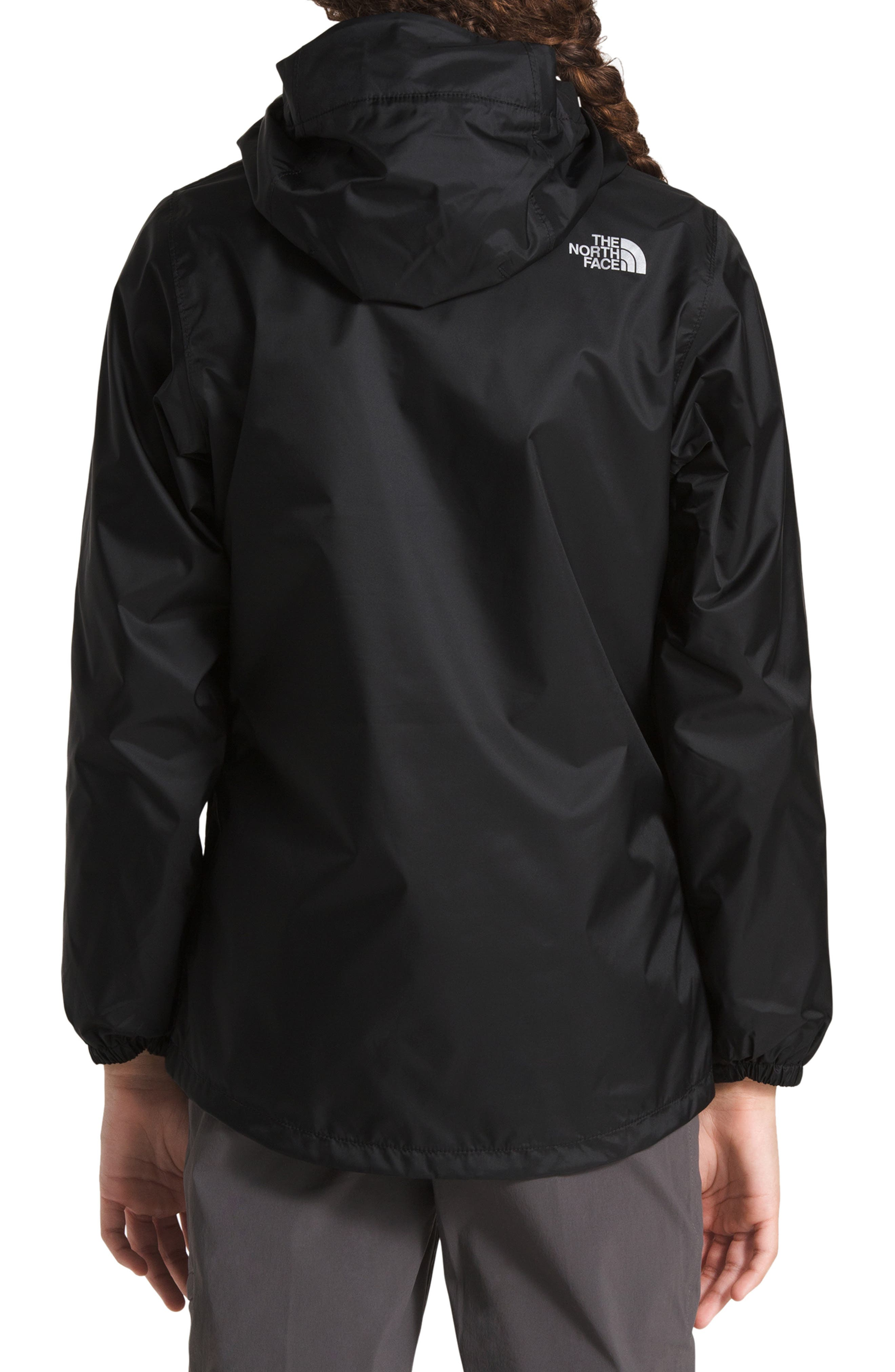 Stormy Rain Triclimate<sup>®</sup> Waterproof 3-in-1 Jacket,                             Alternate thumbnail 3, color,                             TNF BLACK