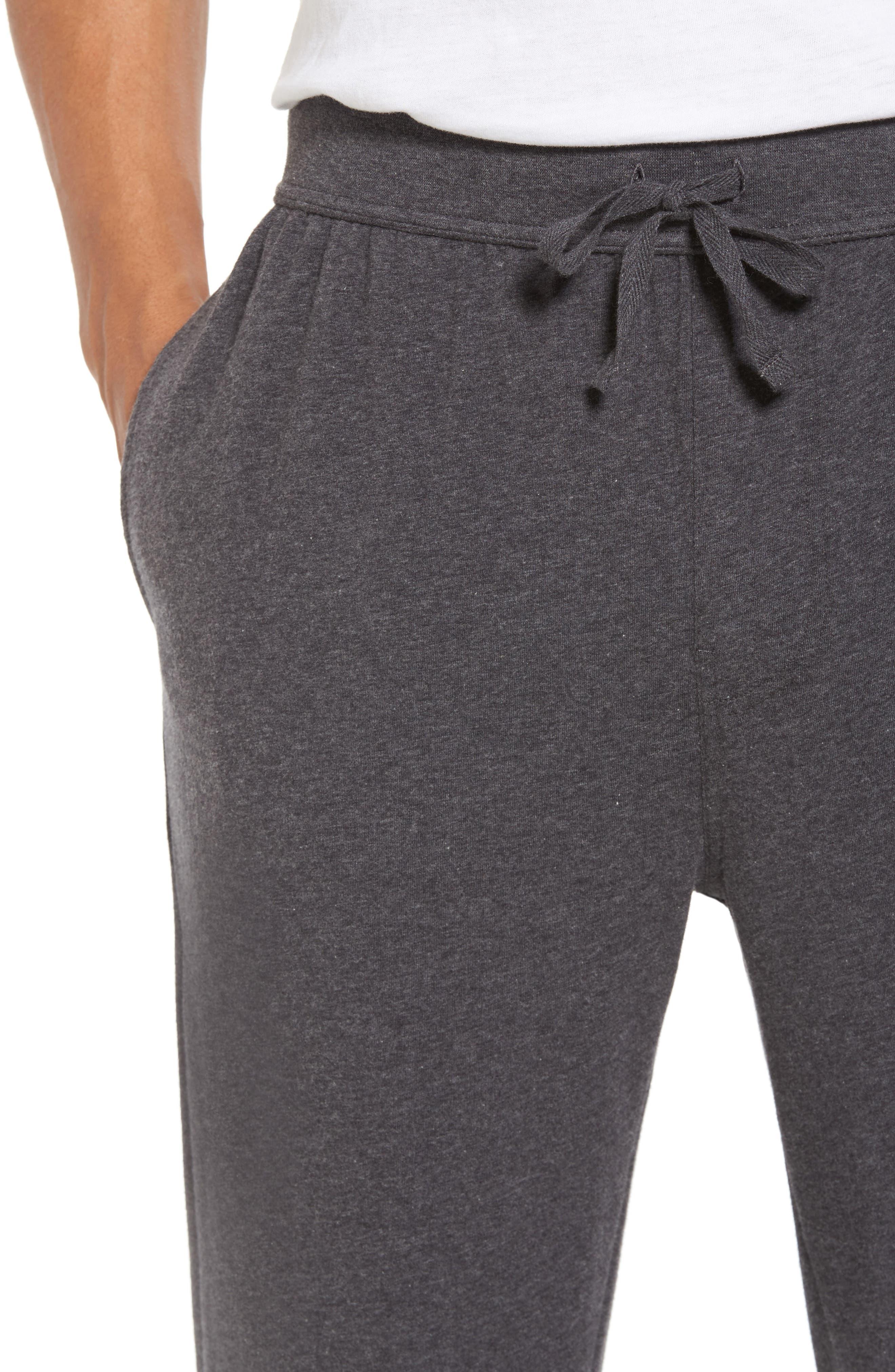 Stretch Cotton Lounge Pants,                             Alternate thumbnail 4, color,                             021