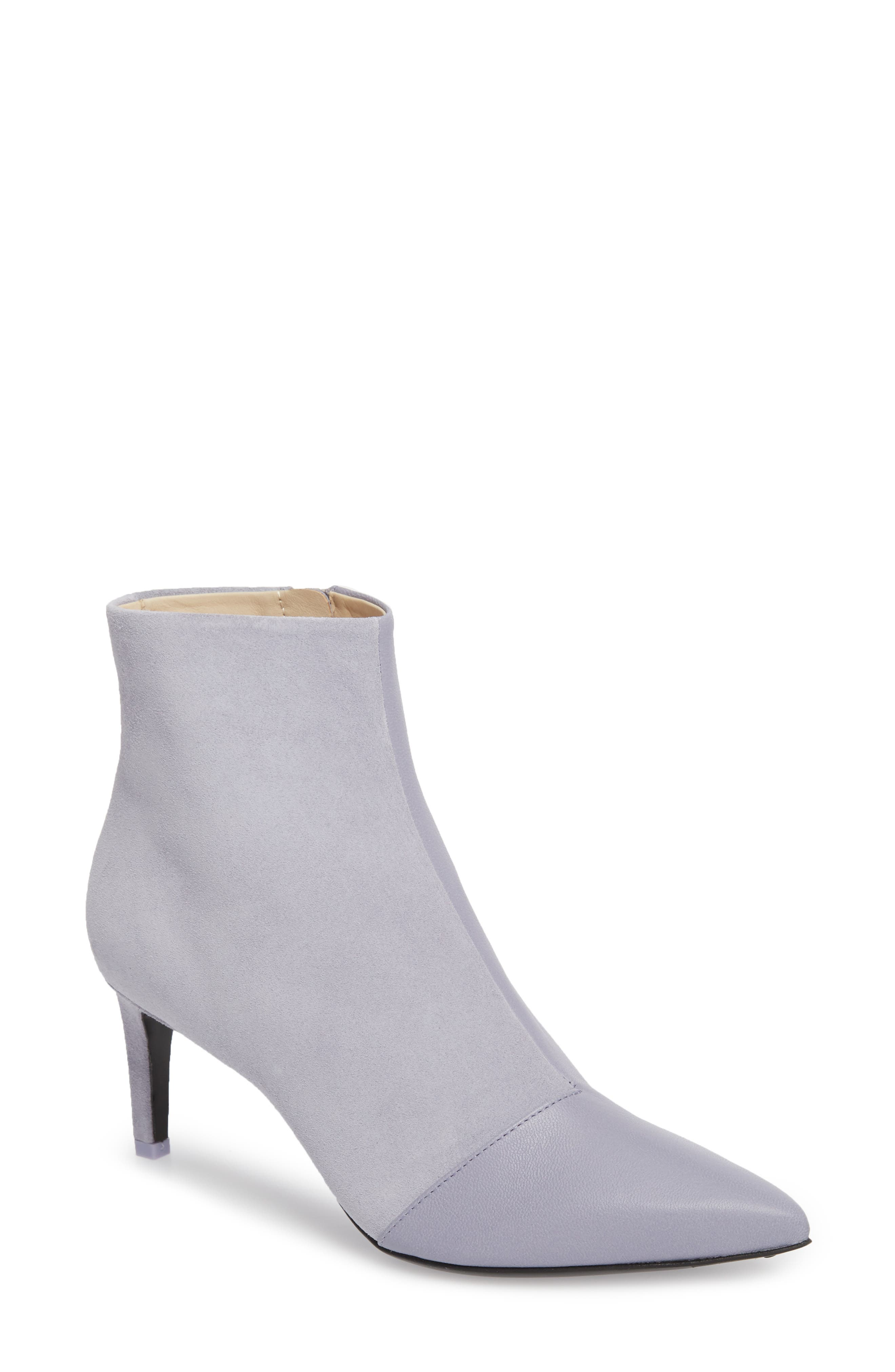 Beha Pointy Toe Bootie,                         Main,                         color, LILAC COMBO