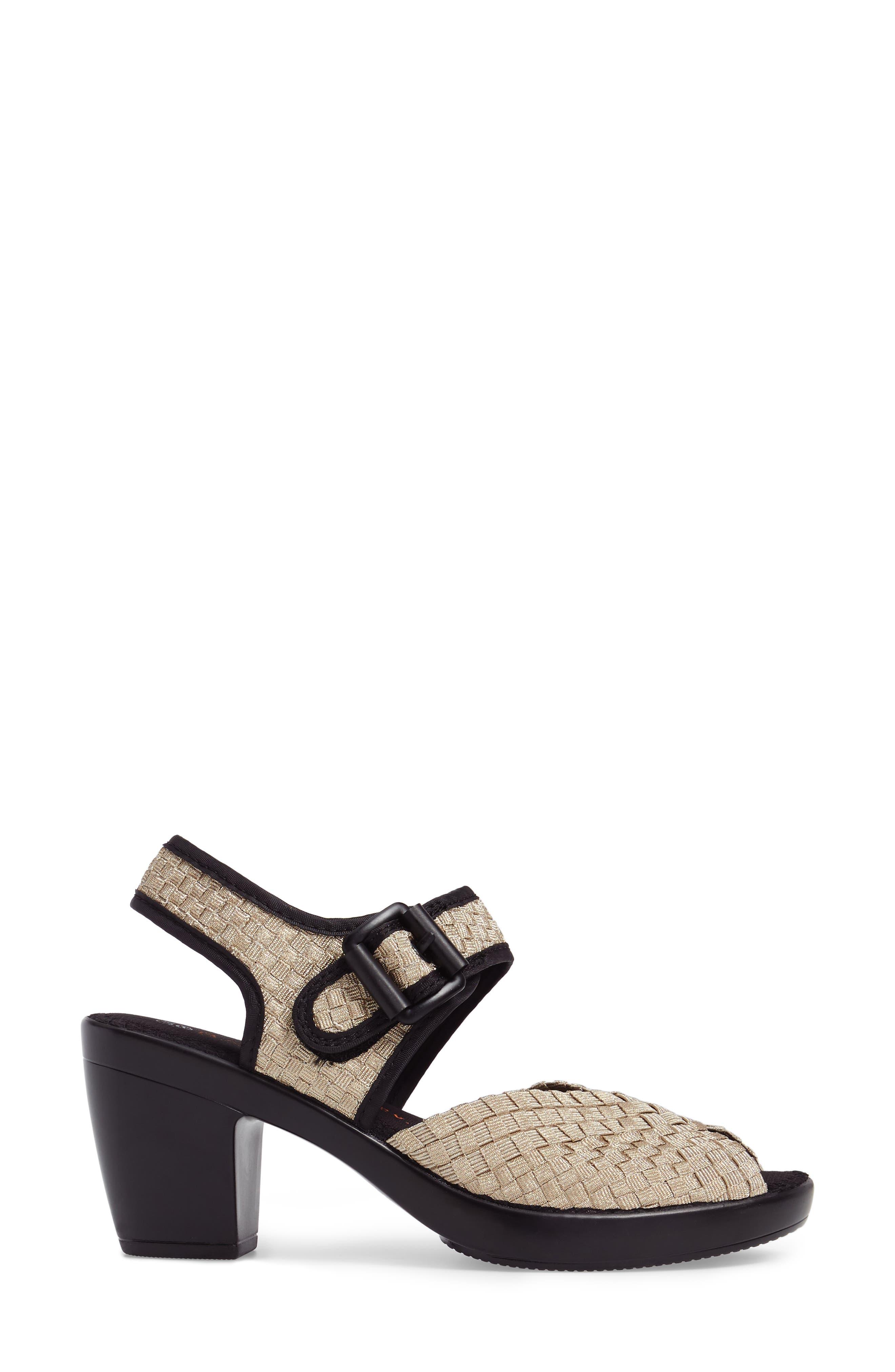 'Drisco' Platform Sandal,                             Alternate thumbnail 3, color,                             718
