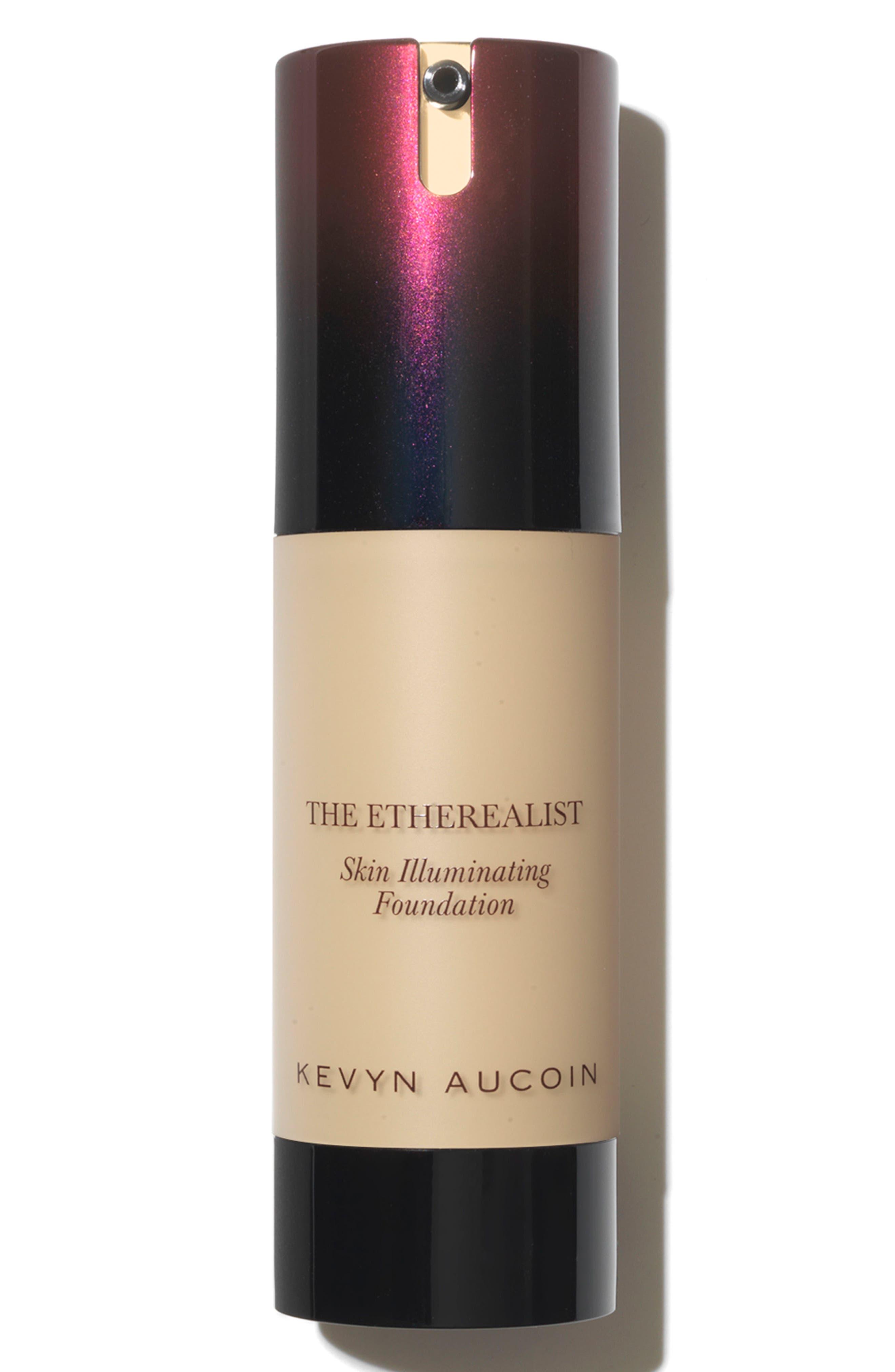 SPACE.NK.apothecary Kevyn Aucoin Beauty The Etherealist Skin Illuminating Foundation,                             Main thumbnail 1, color,                             02 LIGHT