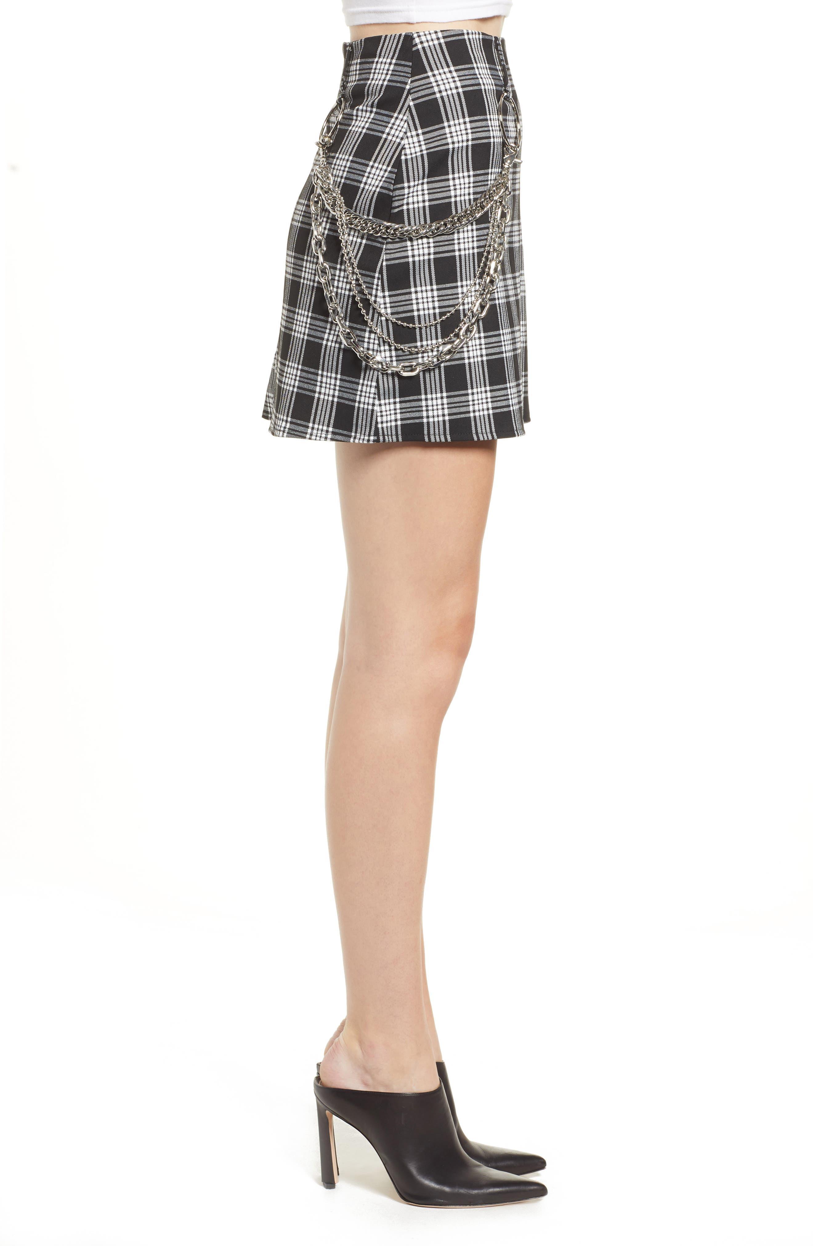 Madison Skirt,                             Alternate thumbnail 3, color,                             BLACK
