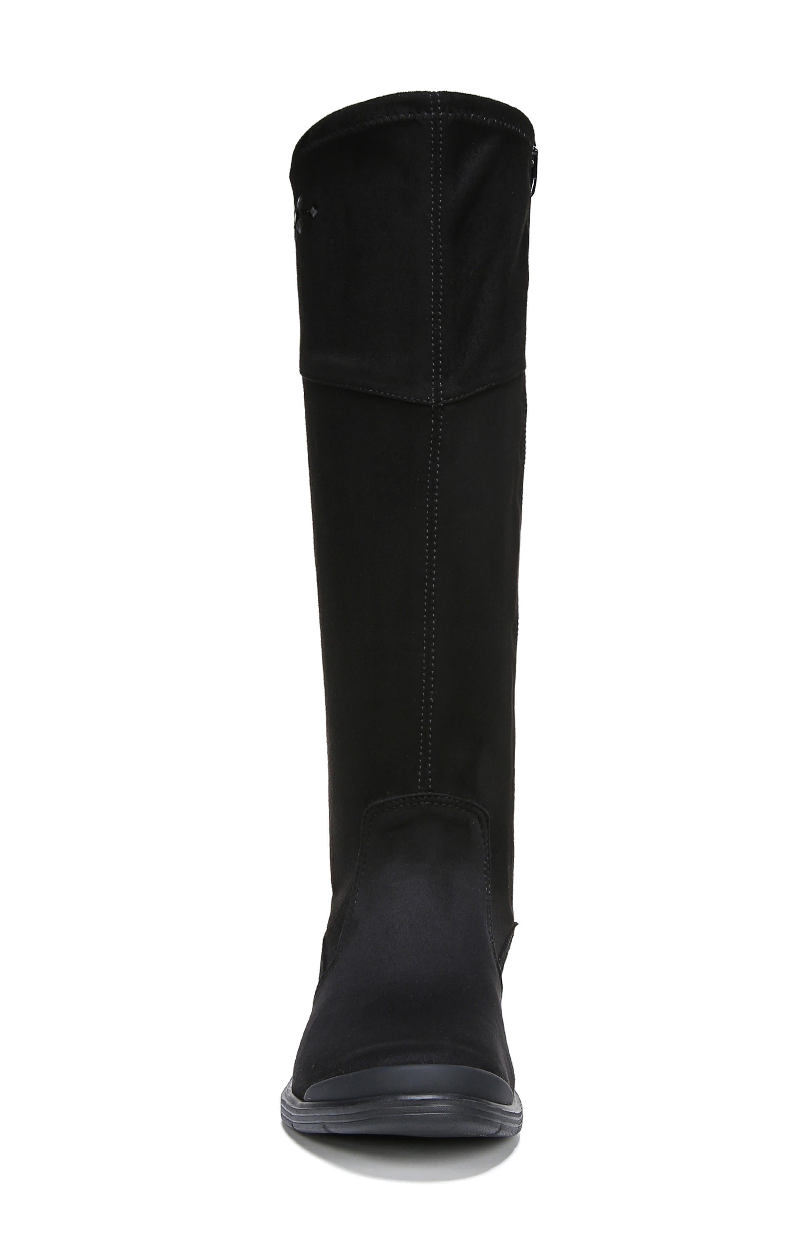 Boomerang Boot,                             Alternate thumbnail 4, color,                             BLACK FABRIC
