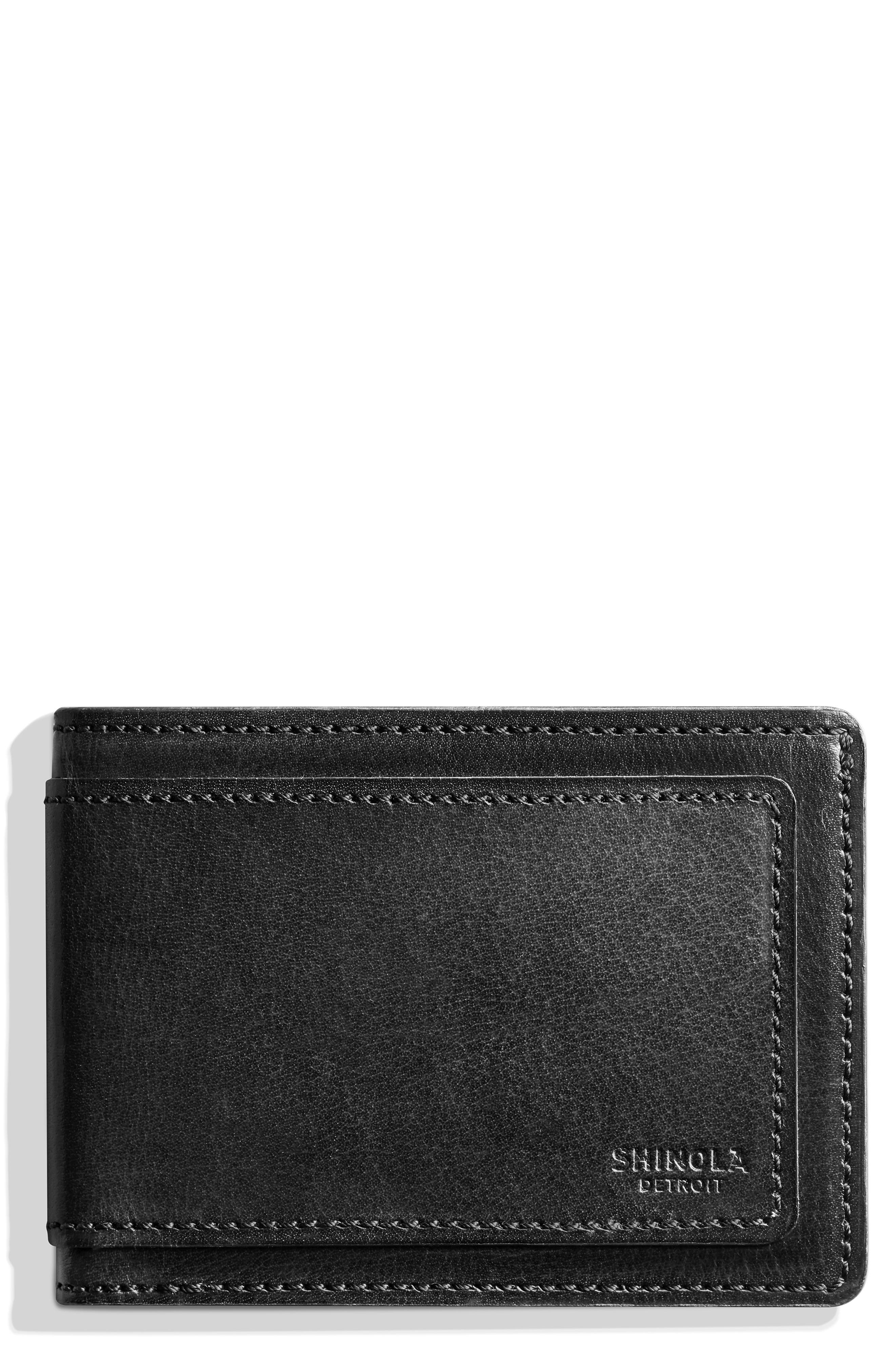 Outlaw Wallet,                             Main thumbnail 1, color,                             BLACK