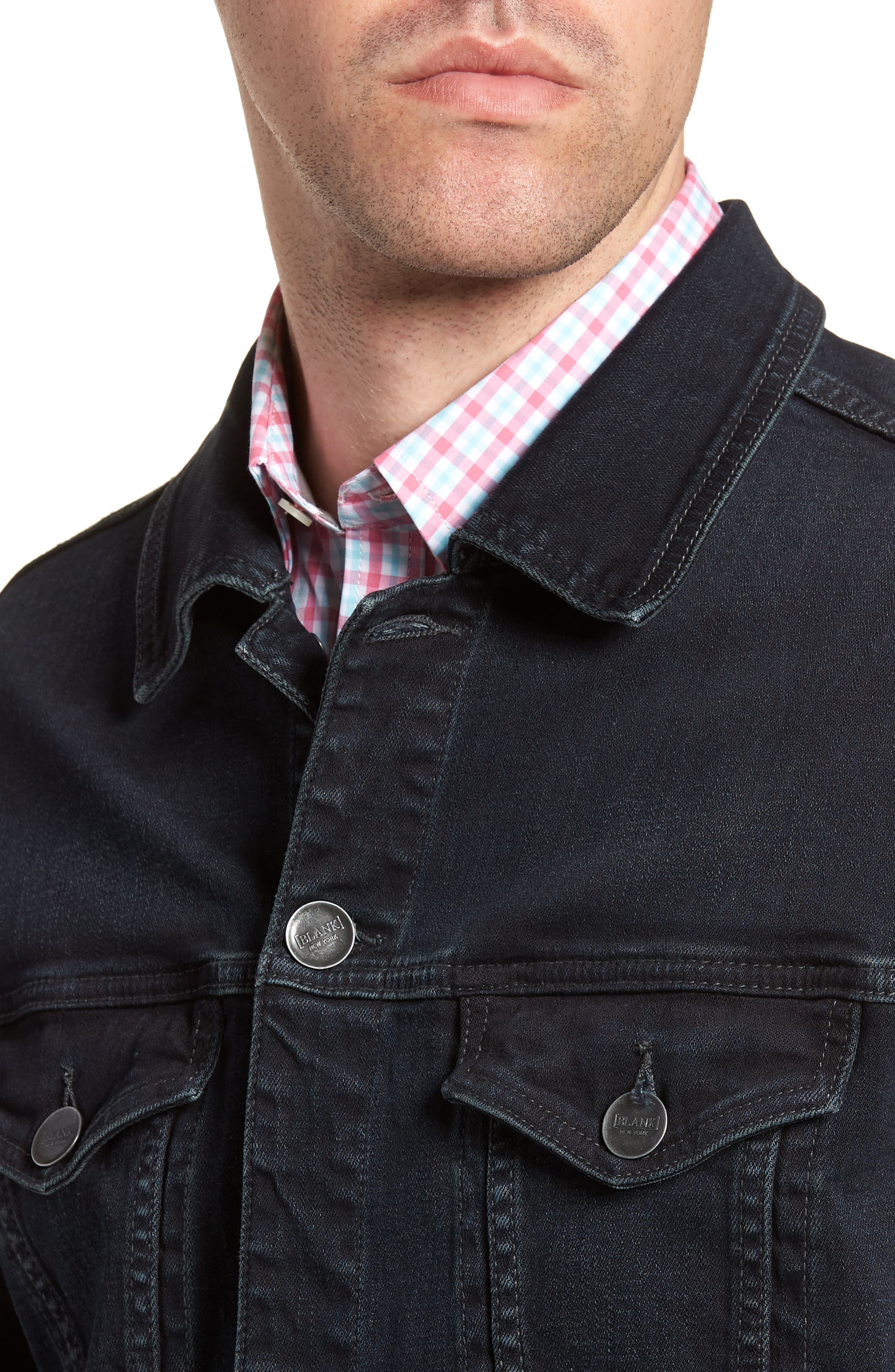 Denim Jacket,                             Alternate thumbnail 4, color,                             409