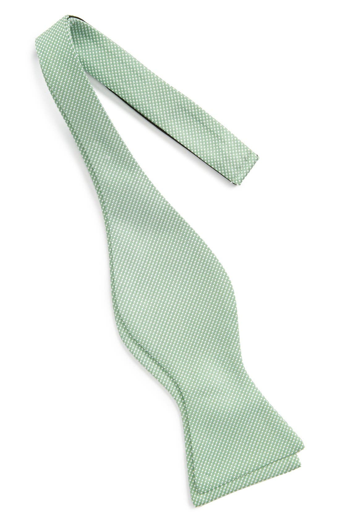 Dot Silk Bow Tie,                             Alternate thumbnail 13, color,