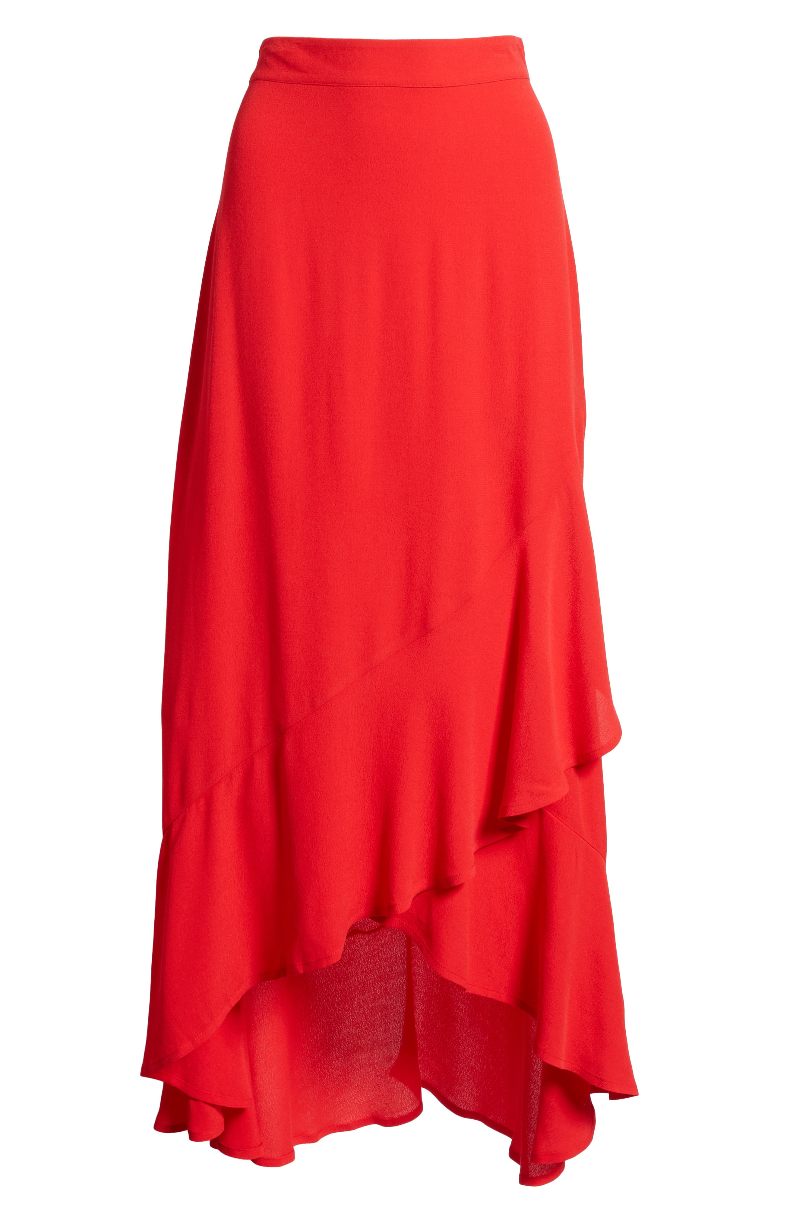 High Waist Tulip Skirt,                             Alternate thumbnail 5, color,                             610