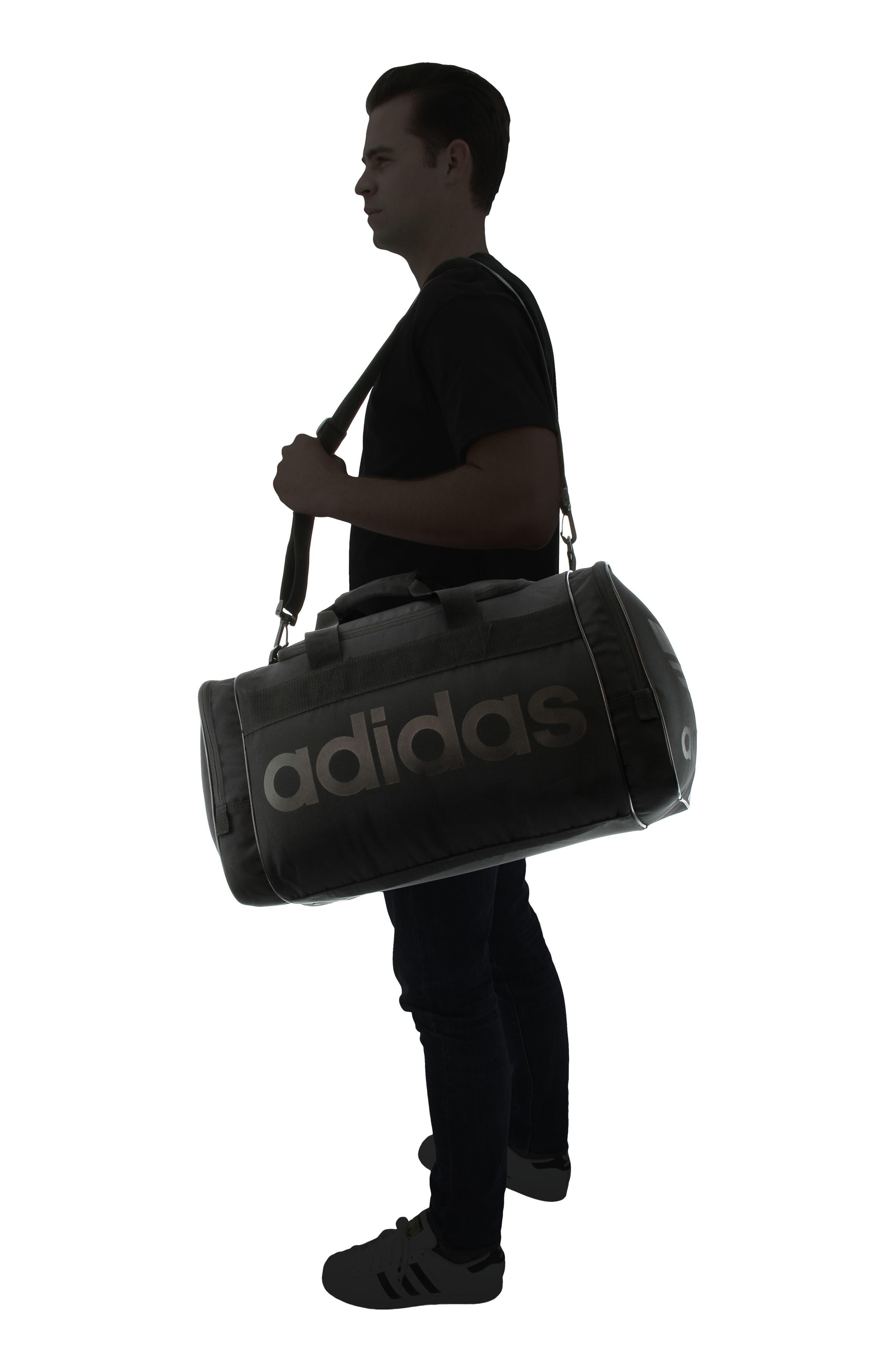 Santiago Duffel Bag,                             Alternate thumbnail 2, color,                             BLACK/ BLACK