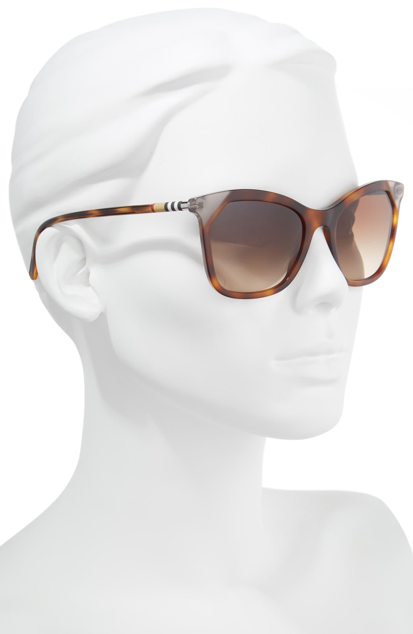 Heritage 54mm Square Sunglasses,                             Alternate thumbnail 6, color,