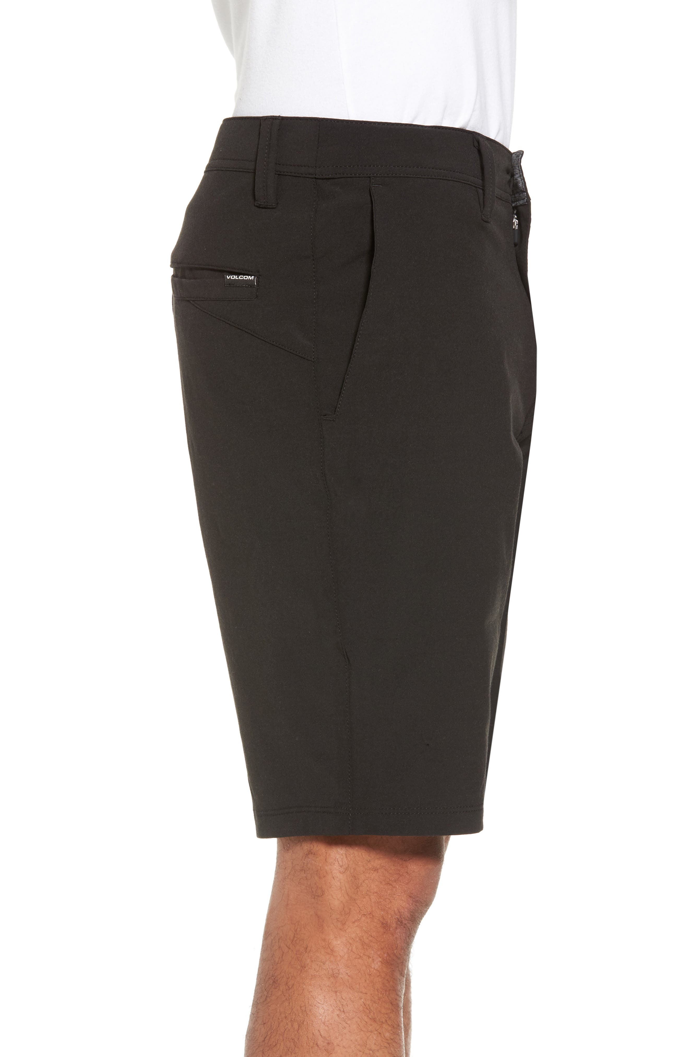Hybrid Shorts,                             Alternate thumbnail 3, color,                             BLACK