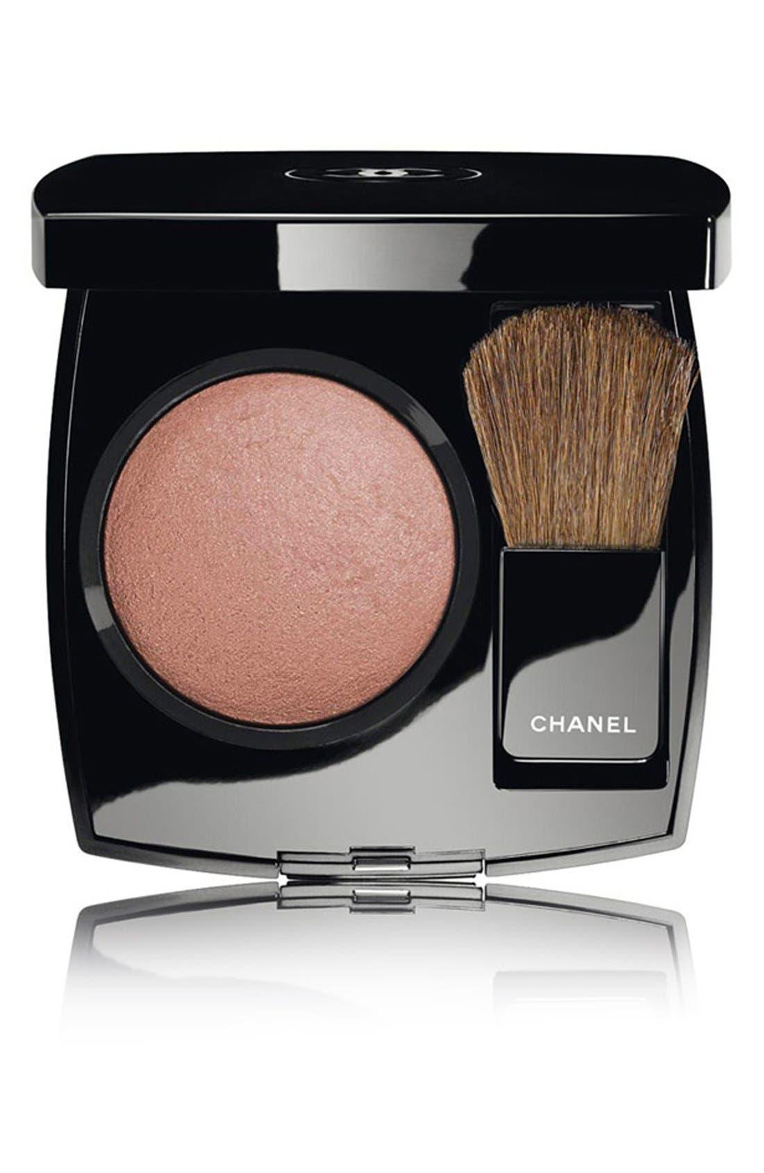 CHANEL JOUES CONTRASTE<br />Powder Blush, Main, color, 280 GOLDEN SUN