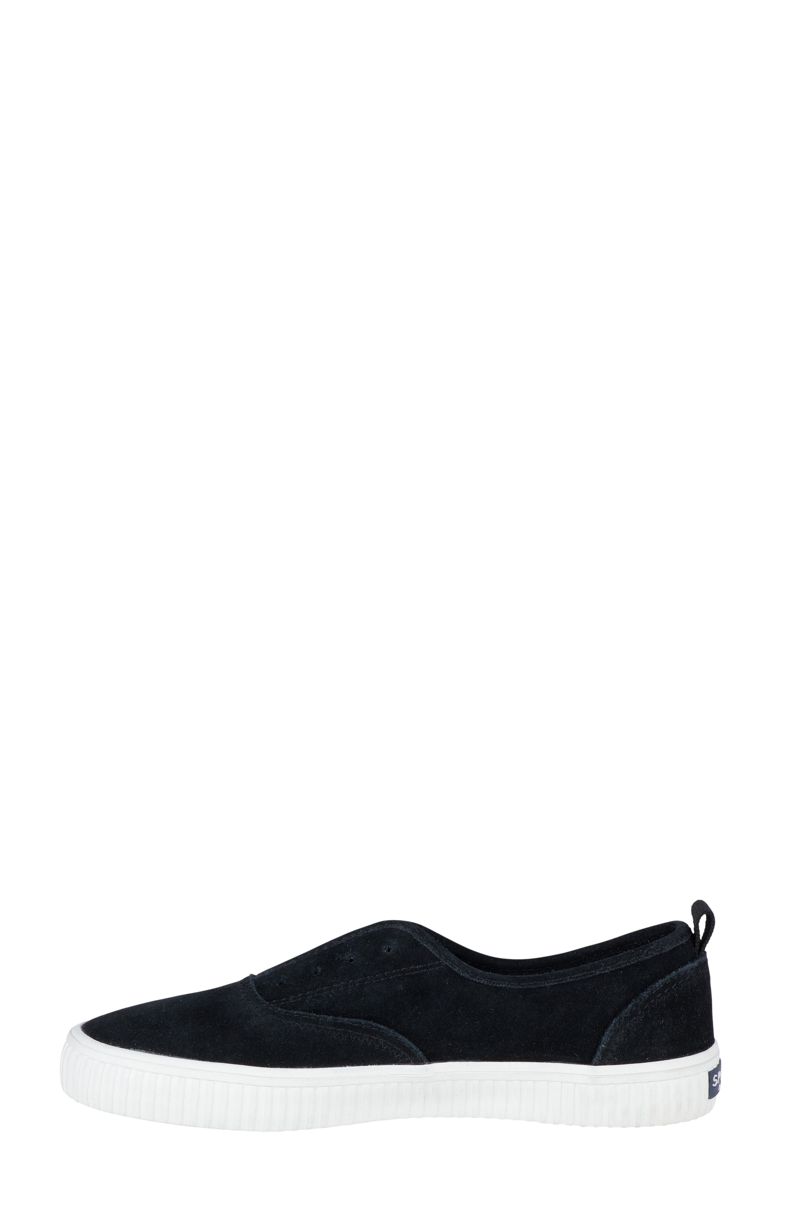 Crest Creeper Slip-On Sneaker,                             Alternate thumbnail 3, color,                             001