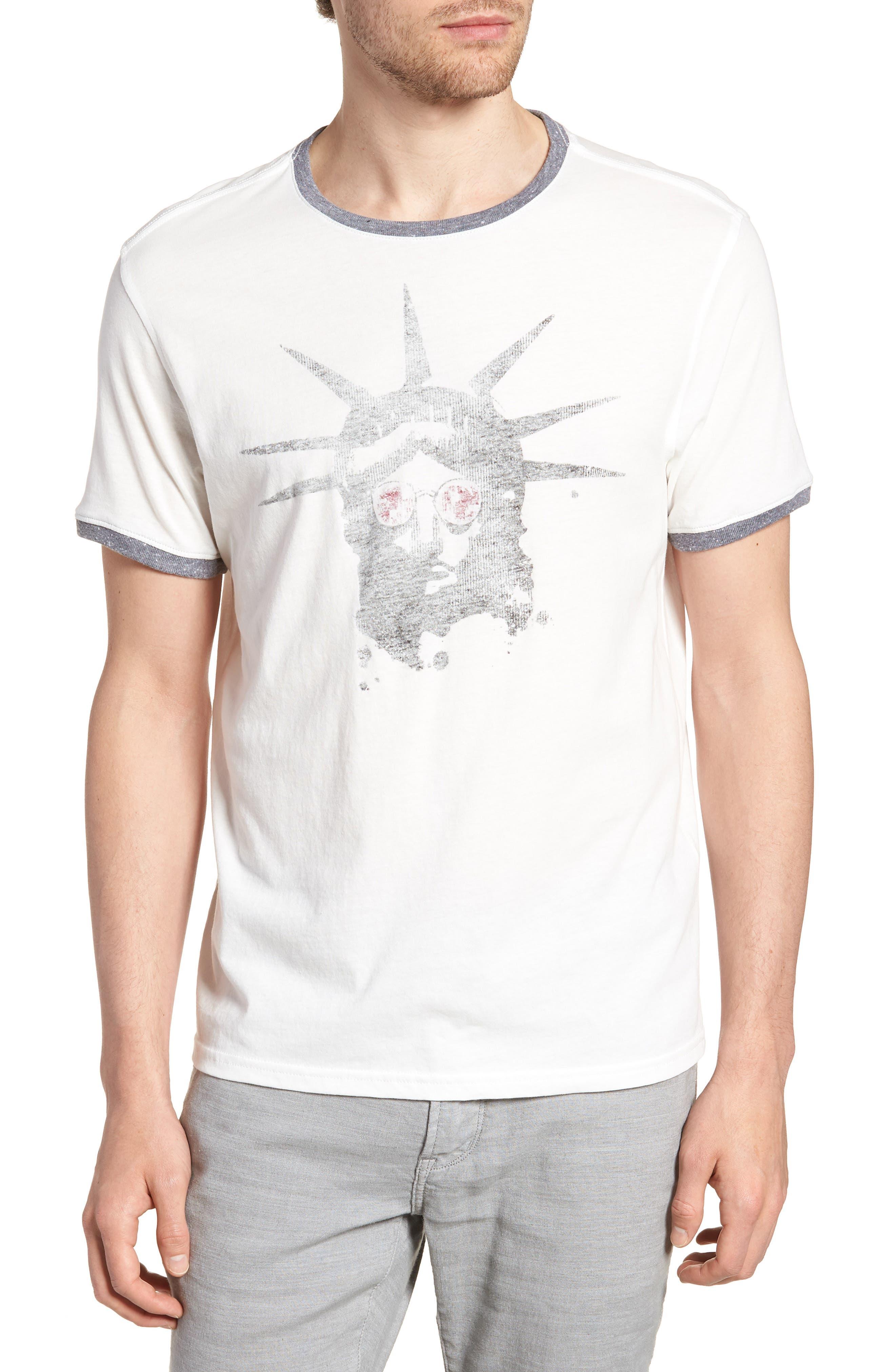 Liberty Shades Crewneck T-Shirt,                             Main thumbnail 1, color,                             103