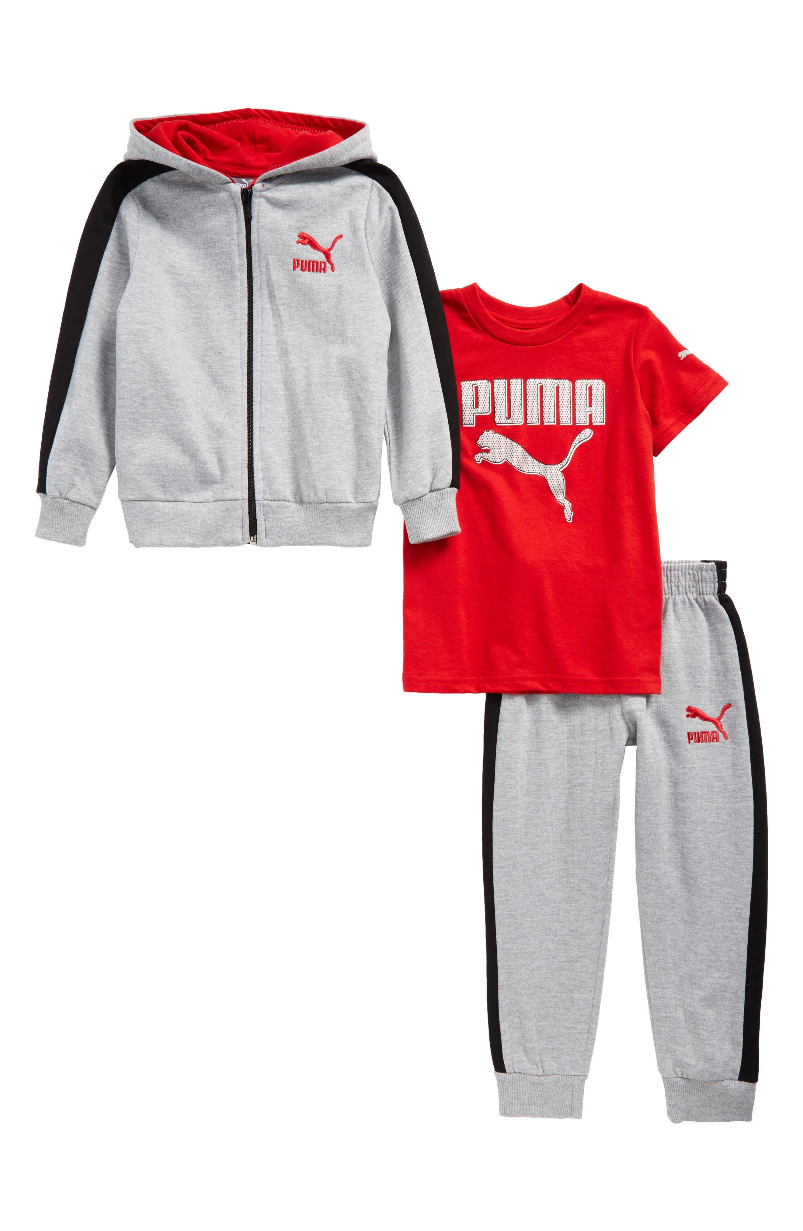 T-Shirt, Hoodie & Sweatpants Set,                             Main thumbnail 3, color,