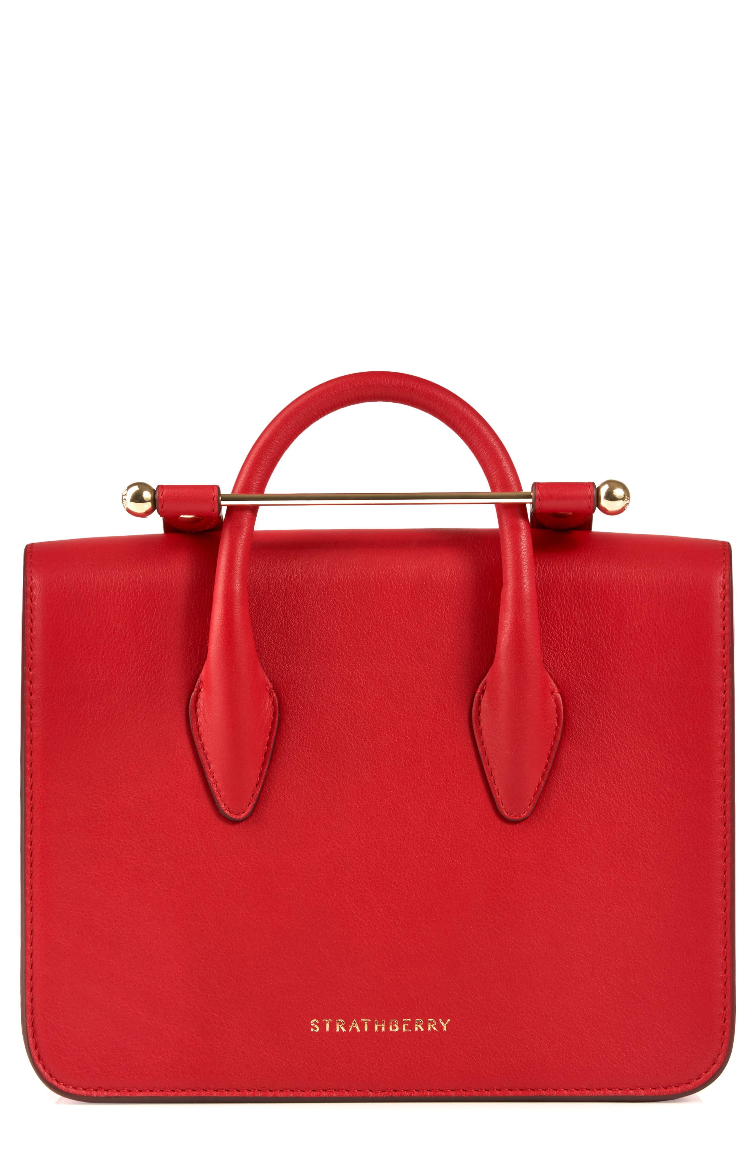 MC Mini Leather Crossbody Bag,                             Alternate thumbnail 4, color,