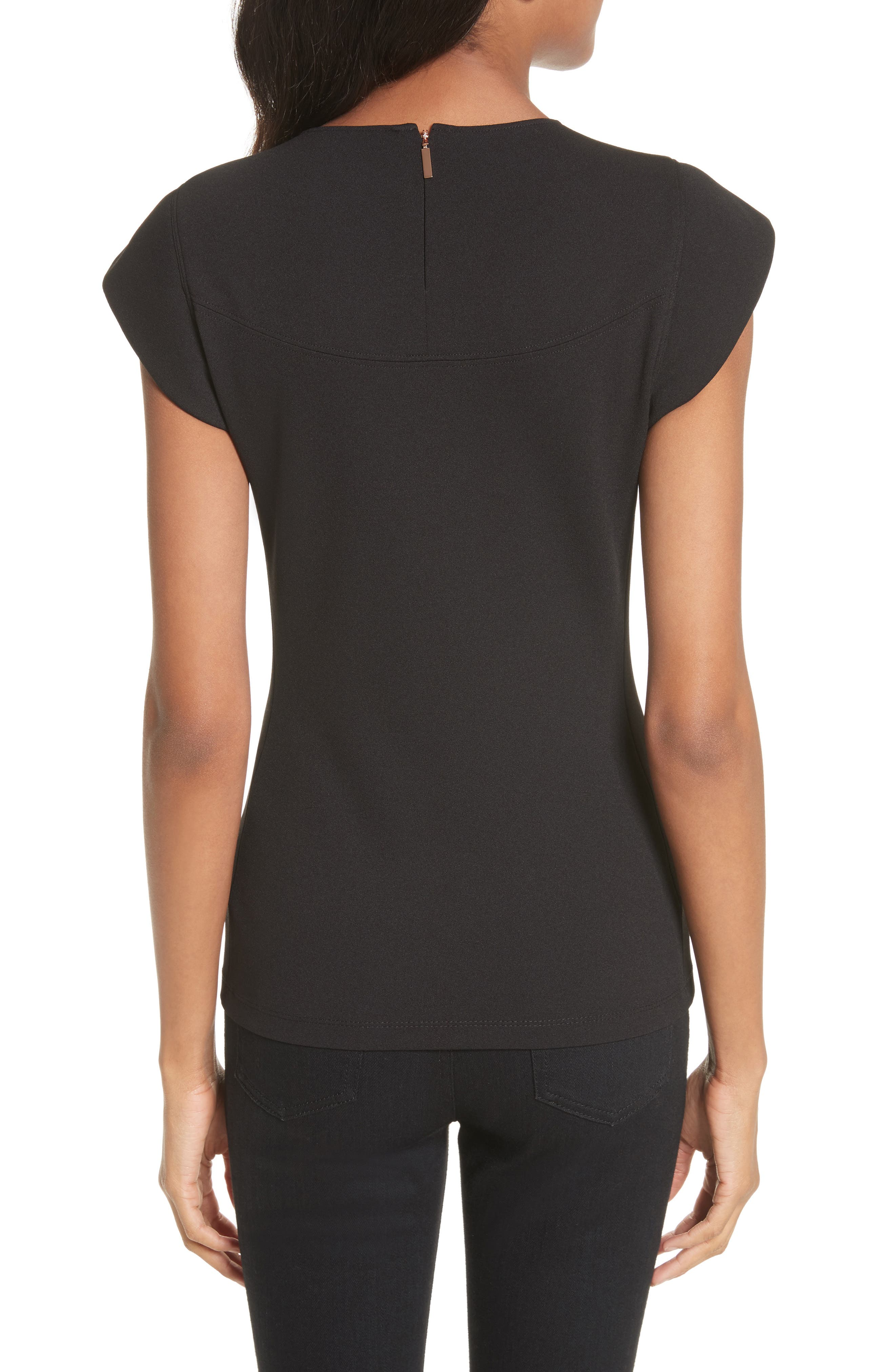 Extended Shoulder Top,                             Alternate thumbnail 2, color,                             001