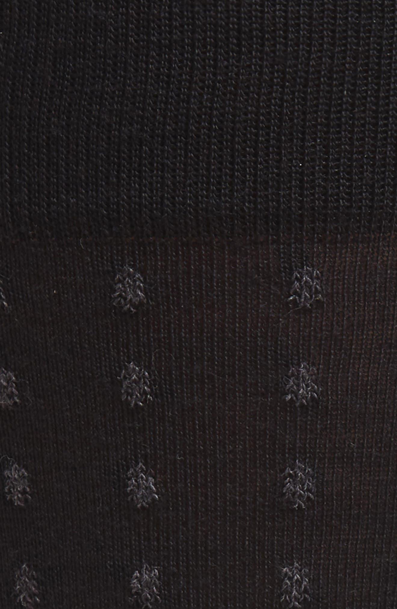 John W. Nordstrom Dot Merino Wool Blend Socks,                             Alternate thumbnail 2, color,                             021