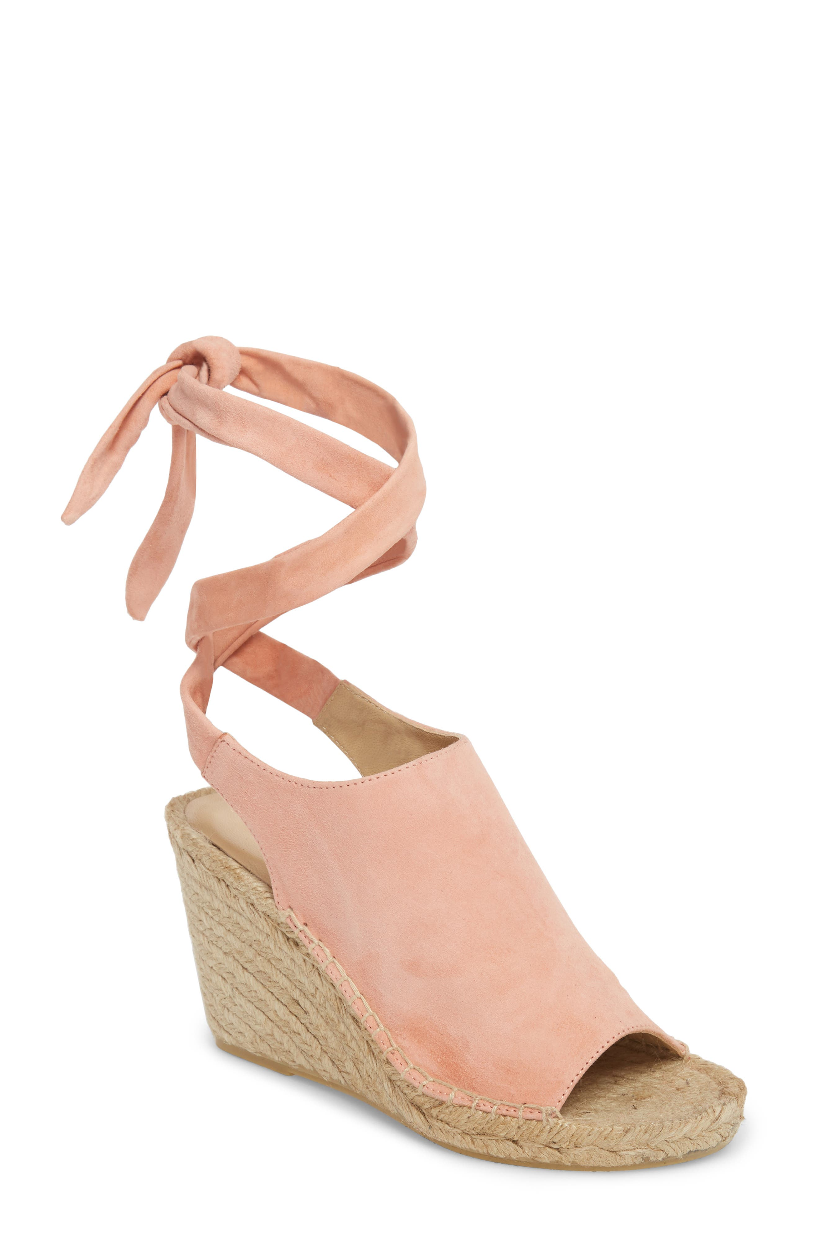 Etienne Aigner Vie Espadrille Wedge Sandal, Pink