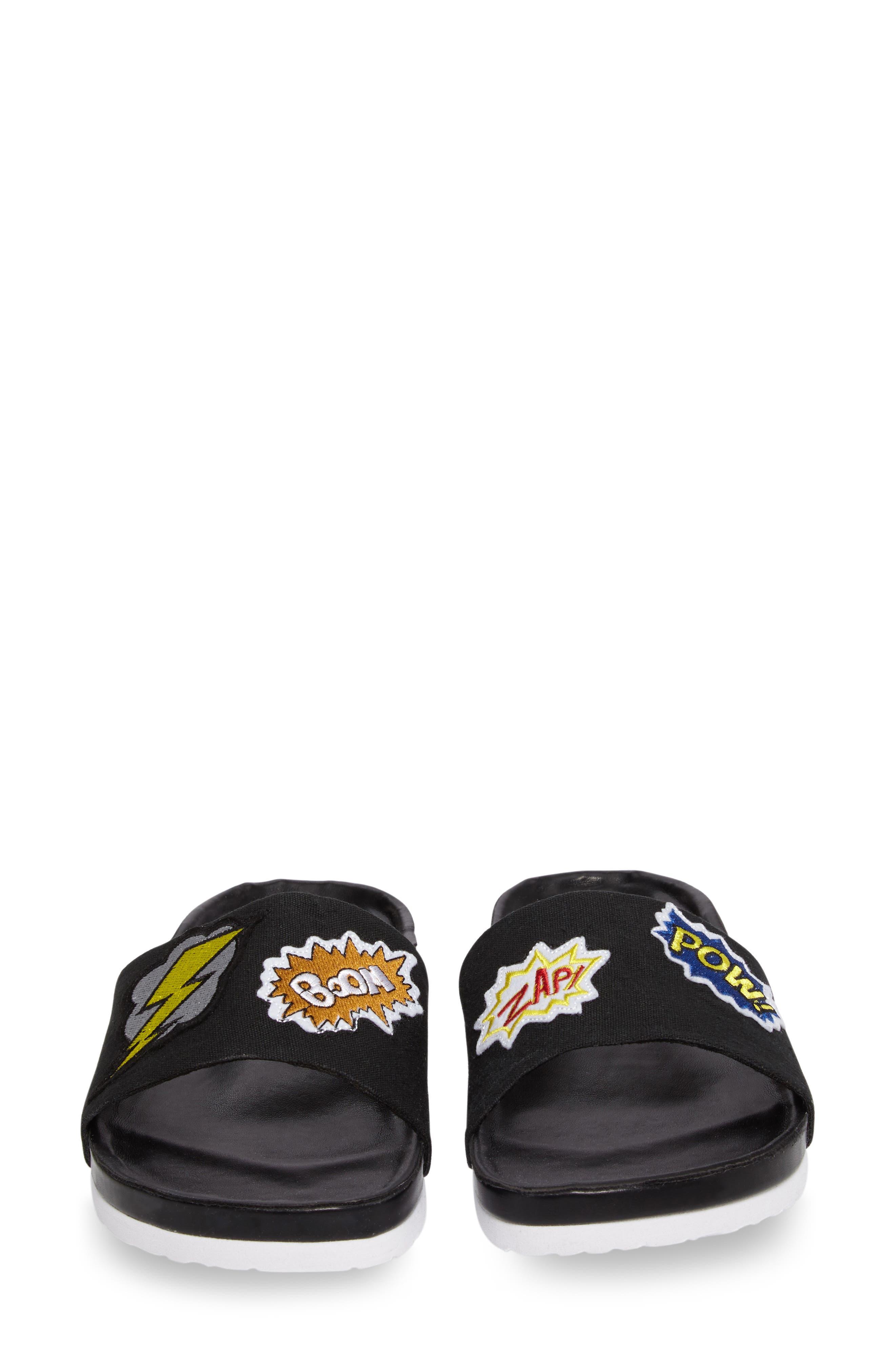 Slide Sandal,                             Alternate thumbnail 5, color,                             001