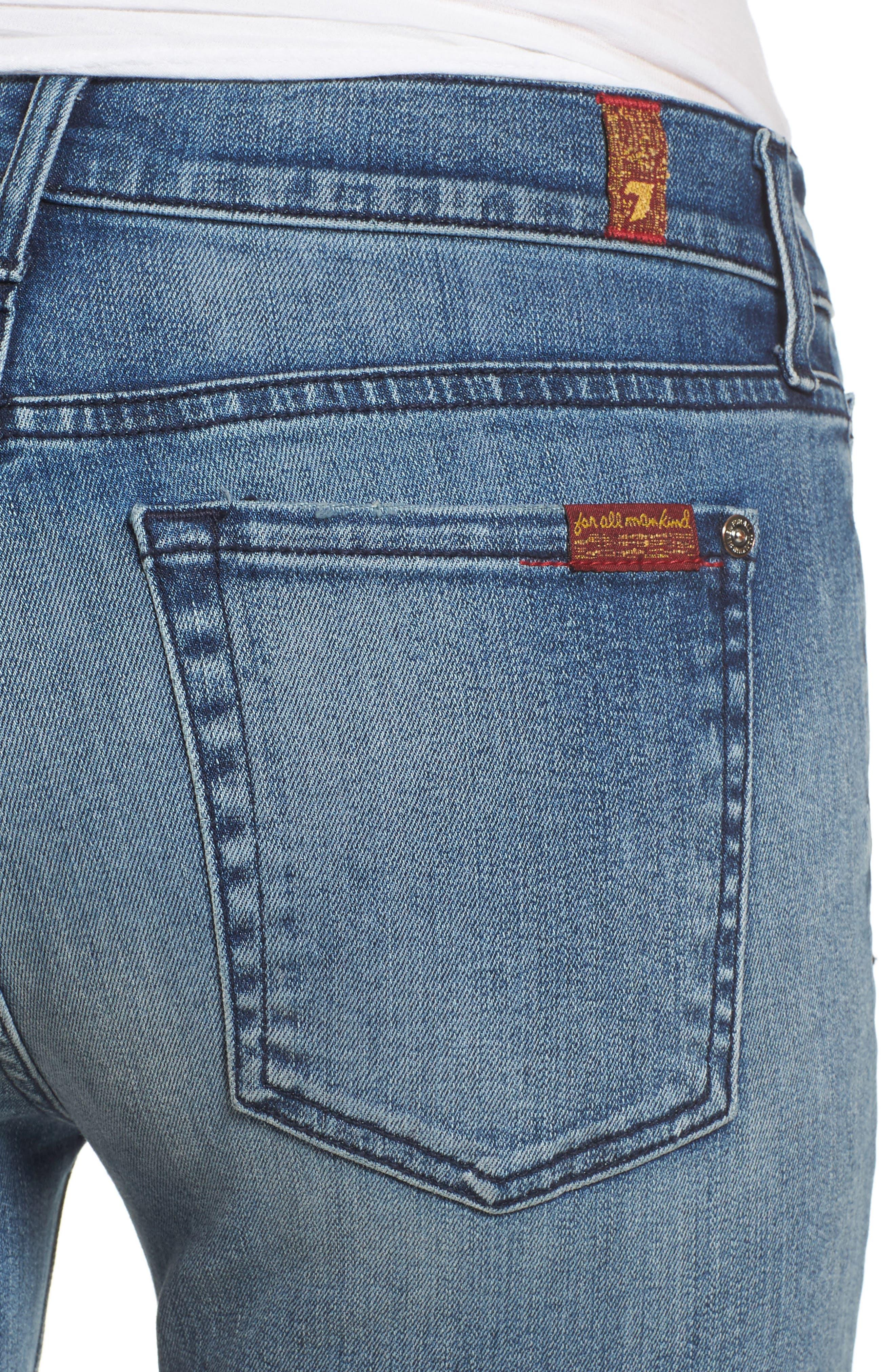Roxanne Ankle Straight Leg Jeans,                             Alternate thumbnail 4, color,