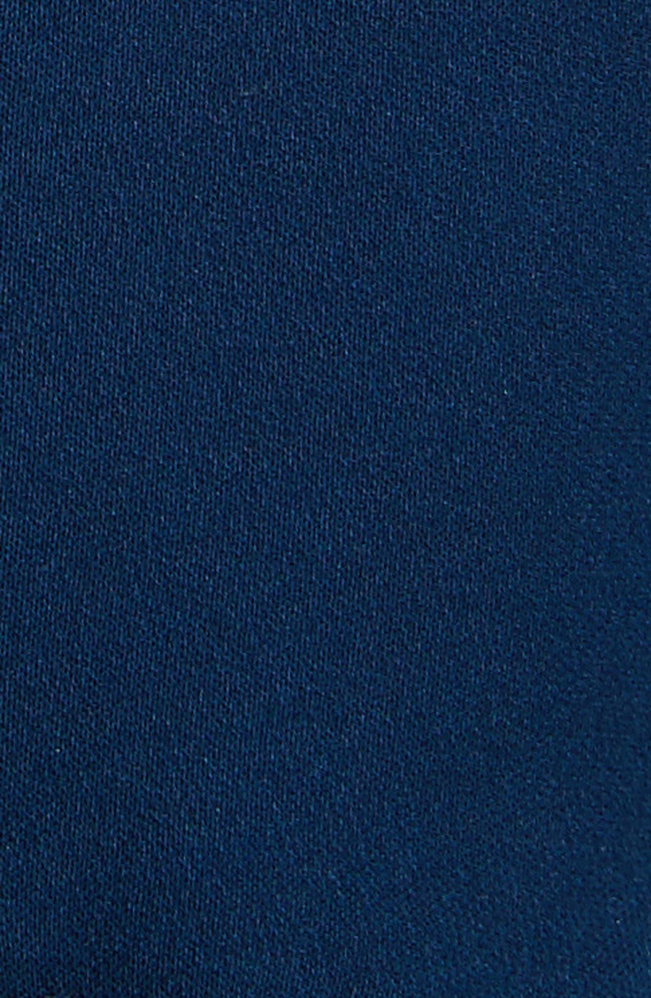 Taghrid Ruffle Silk Dress,                             Alternate thumbnail 5, color,