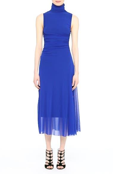 Tulle Turtleneck Midi Dress, video thumbnail