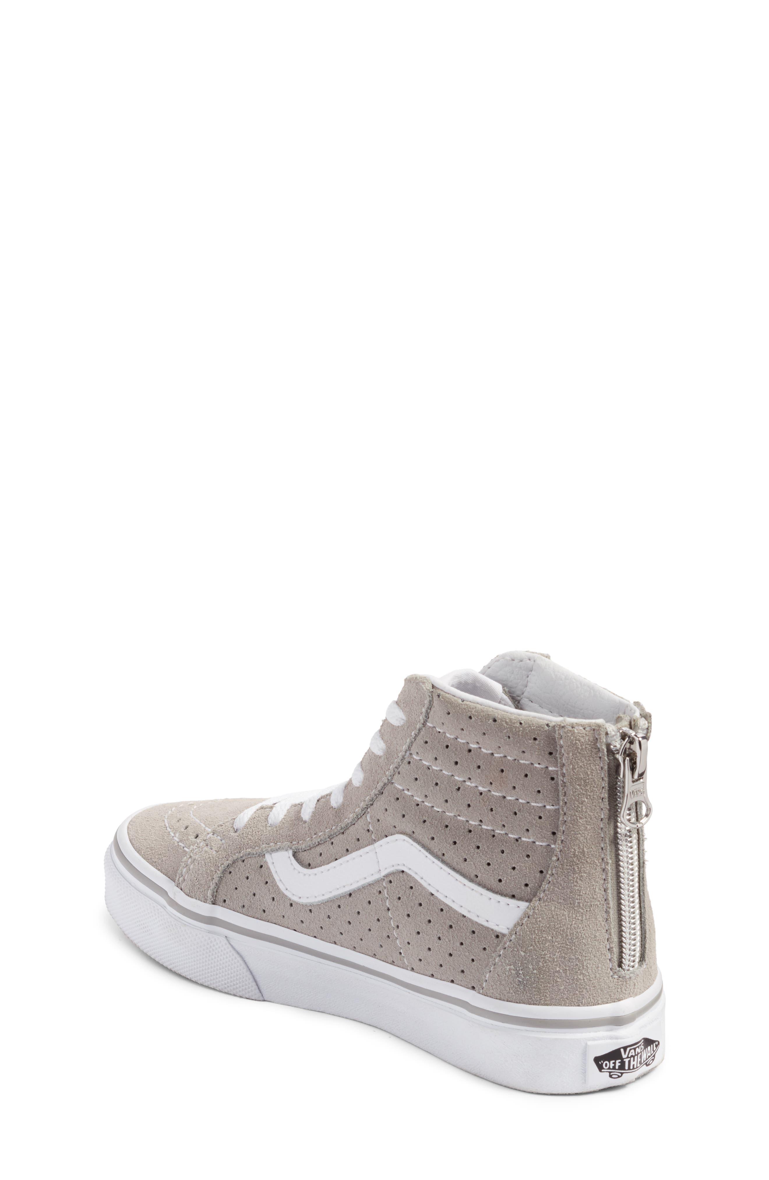 Sk8-Hi Zip Sneaker,                             Alternate thumbnail 2, color,                             050