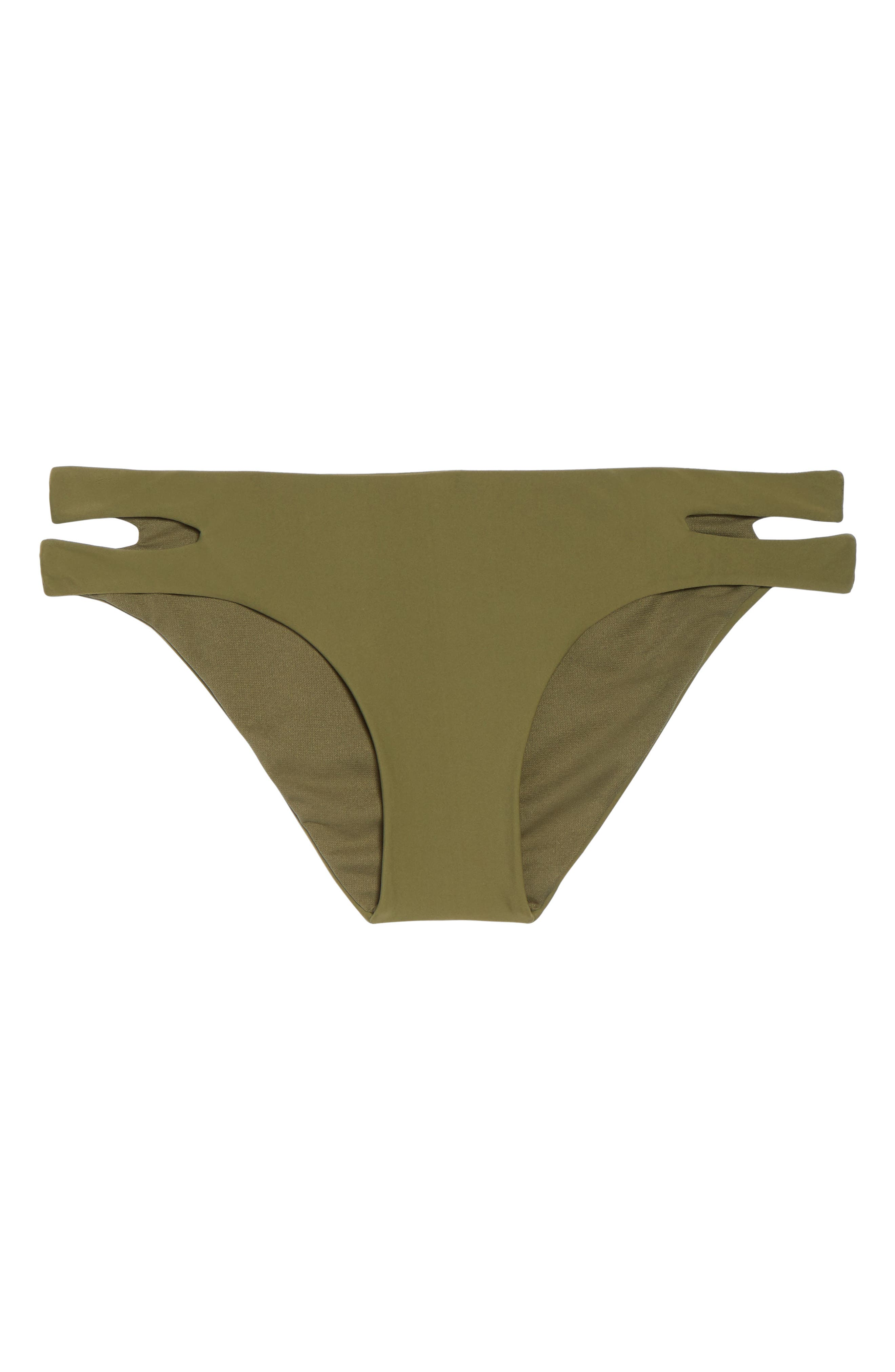 Cutout Hipster Bikini Bottoms,                             Alternate thumbnail 11, color,