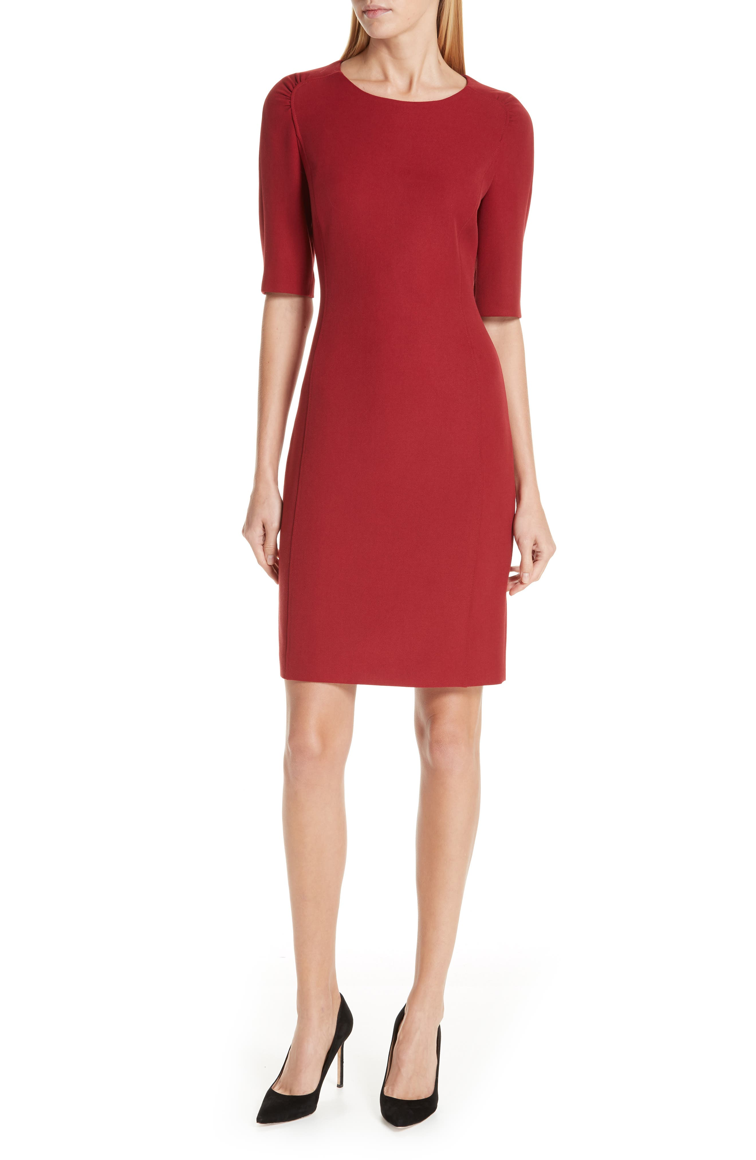 Boss Daletana Soft Twill Dress