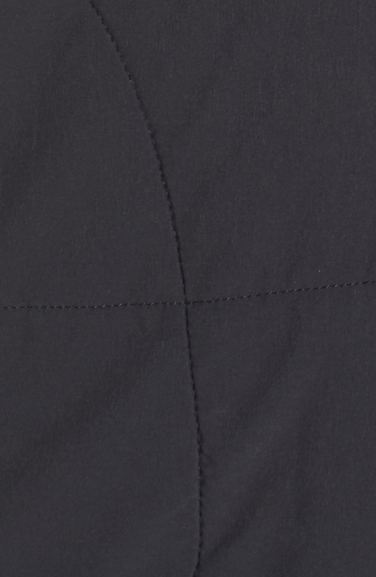 THE NORTH FACE,                             Mountain Insulated Zip Hooded Jacket,                             Alternate thumbnail 7, color,                             TNF BLACK