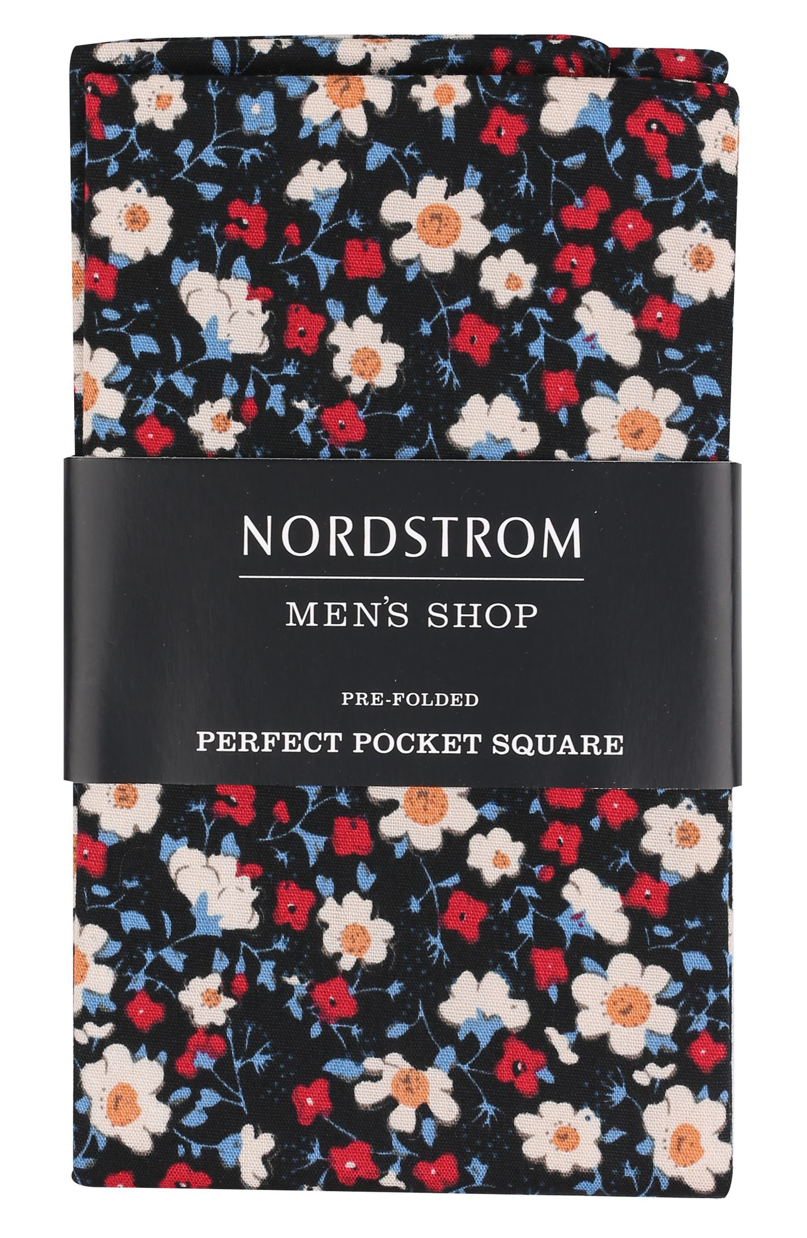 The Pre-Folded Perfect Pocket Square,                             Main thumbnail 1, color,                             001