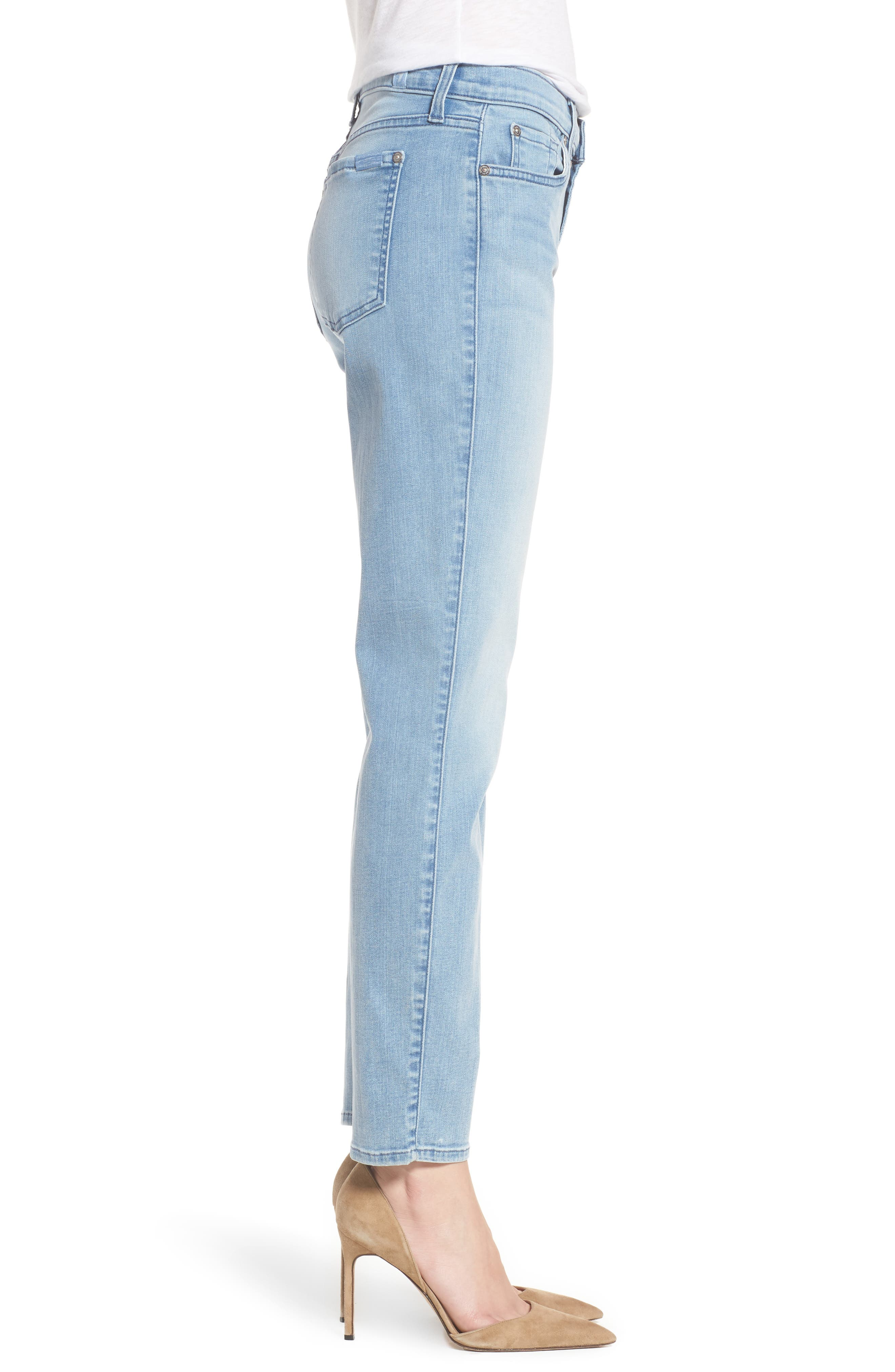 7 FOR ALL MANKIND<SUP>®</SUP>,                             b(air) Roxanne Ankle Skinny Jeans,                             Alternate thumbnail 3, color,                             401