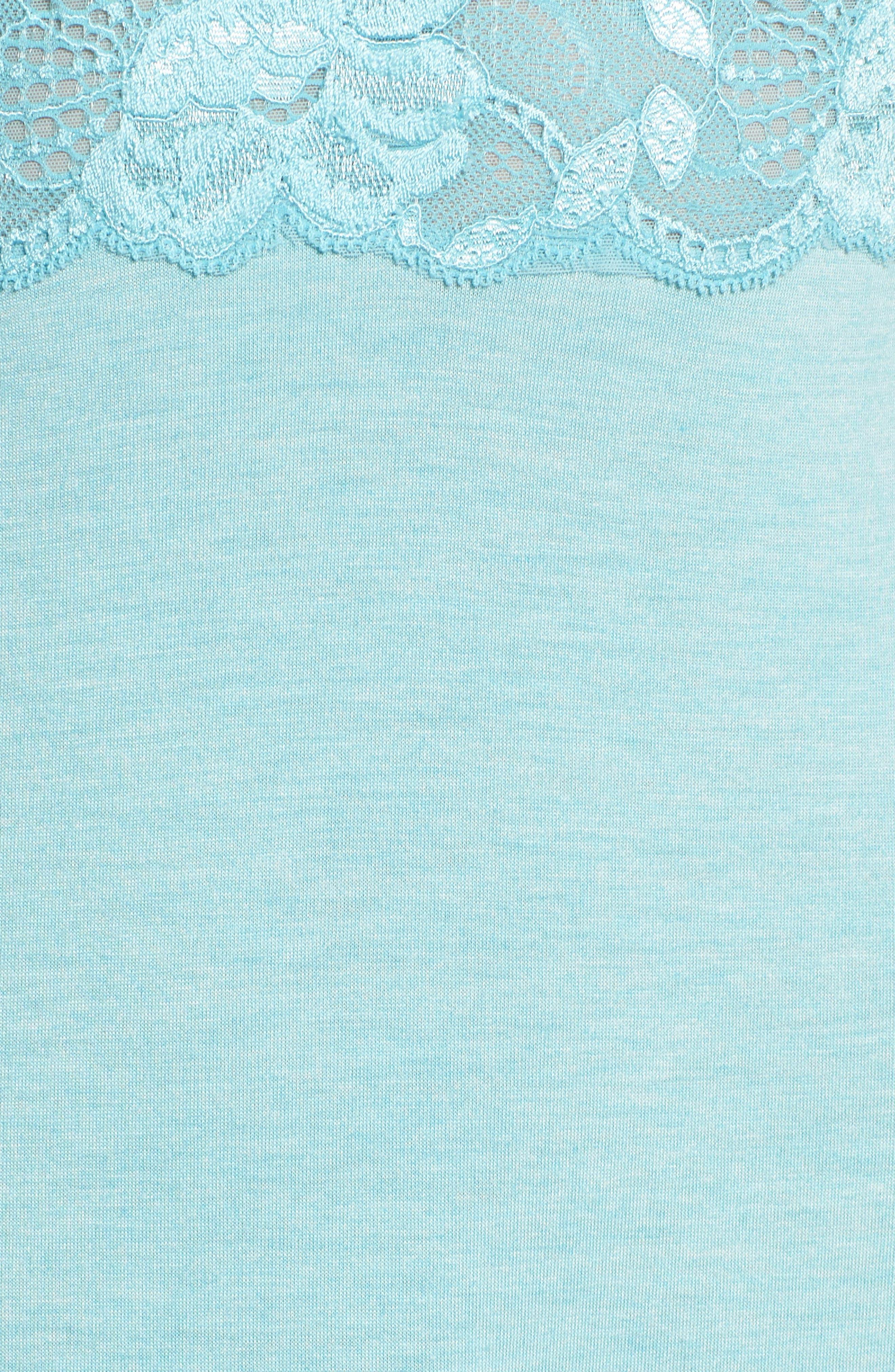 'Zen Floral' Nightgown,                             Alternate thumbnail 5, color,                             420