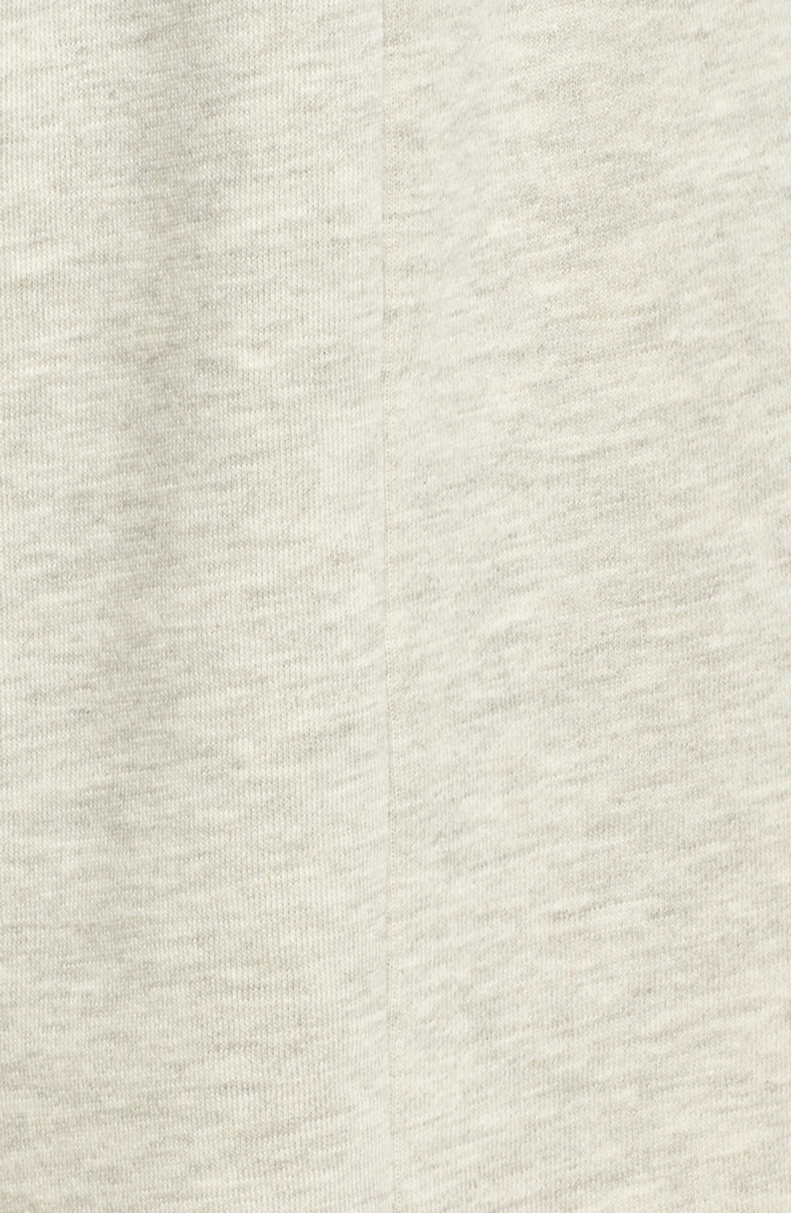 Bermuda Lounge Shorts,                             Alternate thumbnail 5, color,                             PEBBLE HEATHER