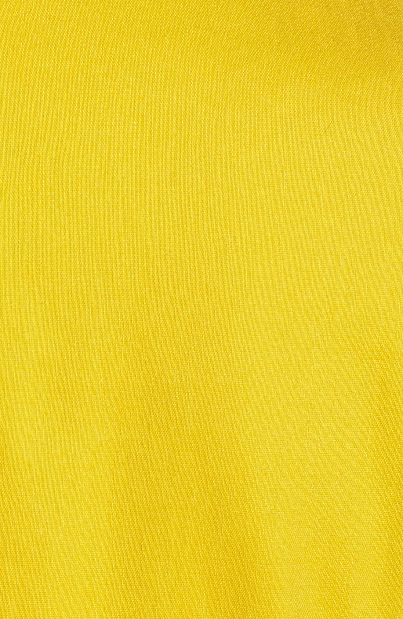 Double Breasted Linen Blend Blazer,                             Alternate thumbnail 30, color,