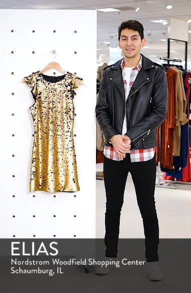 Sequin Babydoll Dress, sales video thumbnail