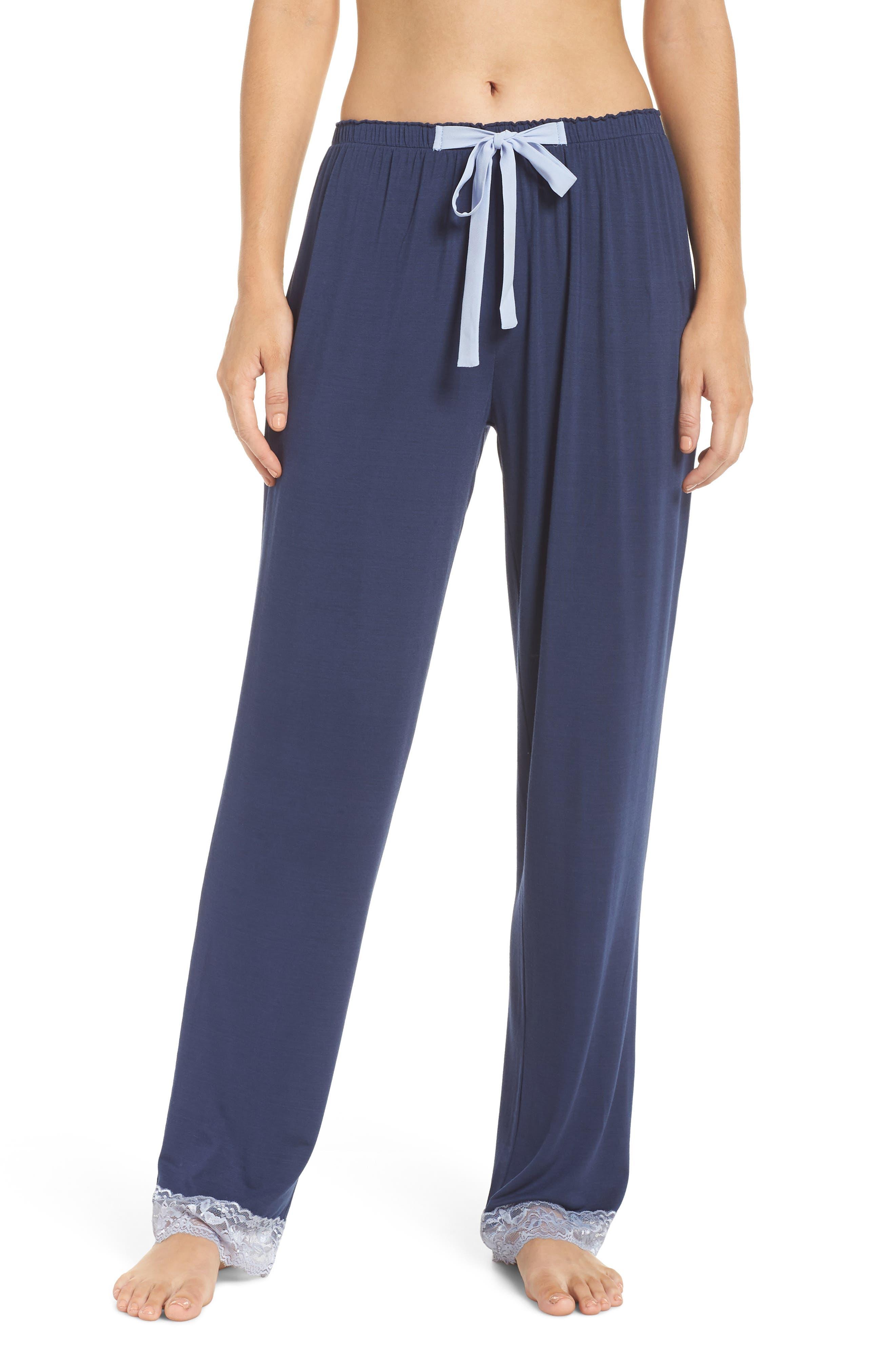 Snuggle Lounge Pants,                         Main,                         color, STEEL BLUE