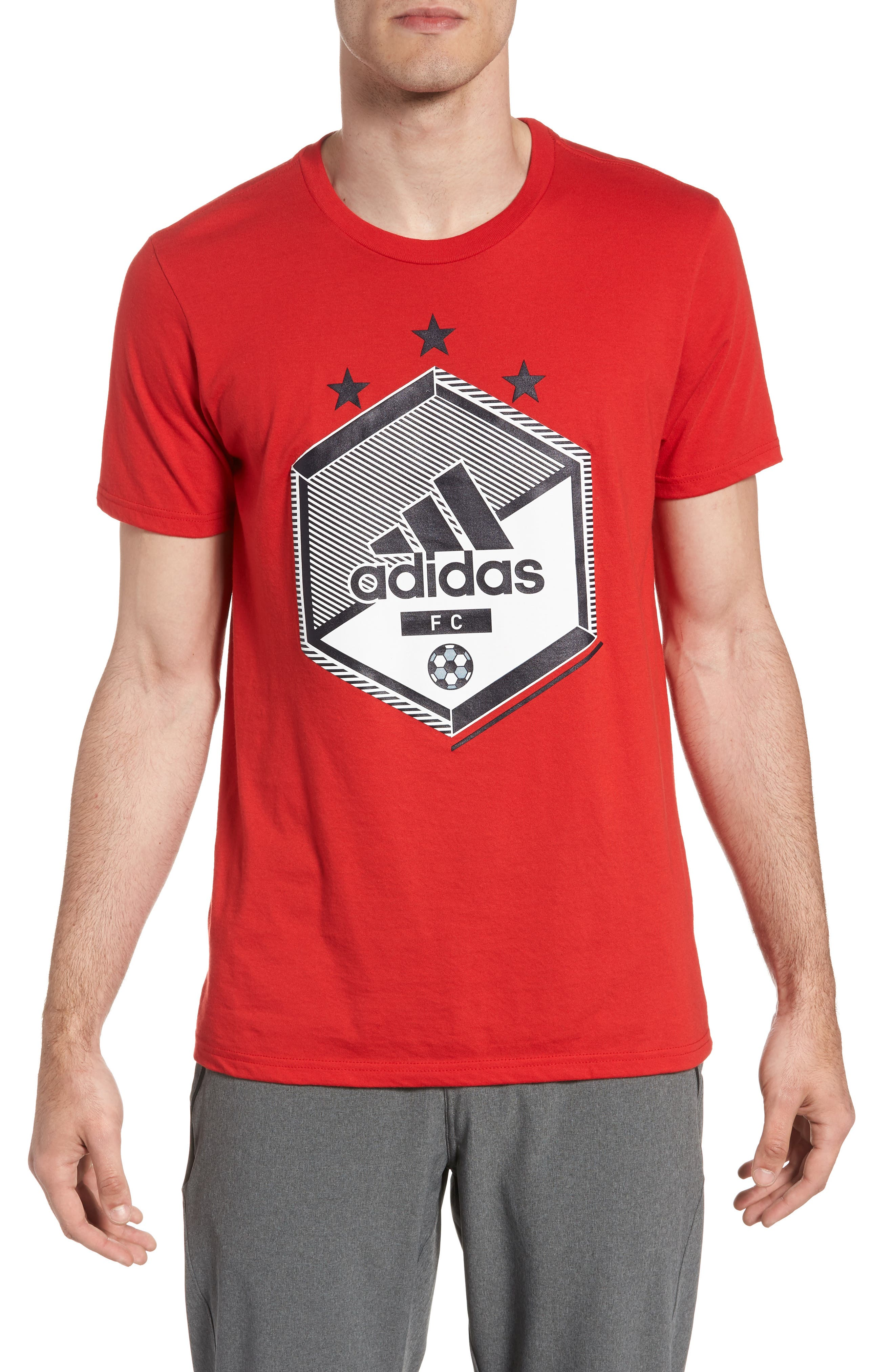 Slim Fit Soccer Graphic T-Shirt,                             Main thumbnail 3, color,