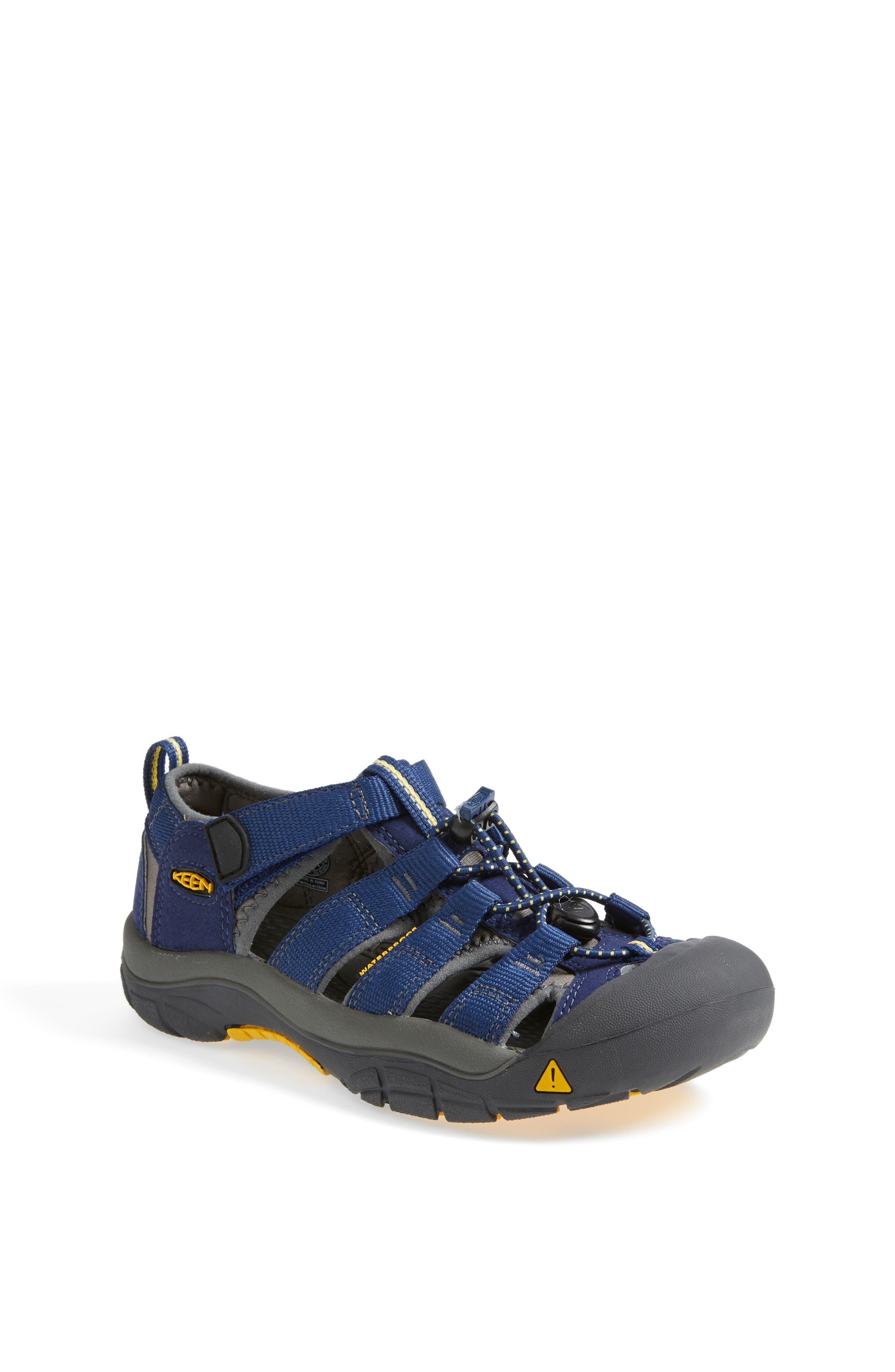 'Newport H2' Water Friendly Sandal,                             Main thumbnail 1, color,                             BLUE DEPTHS