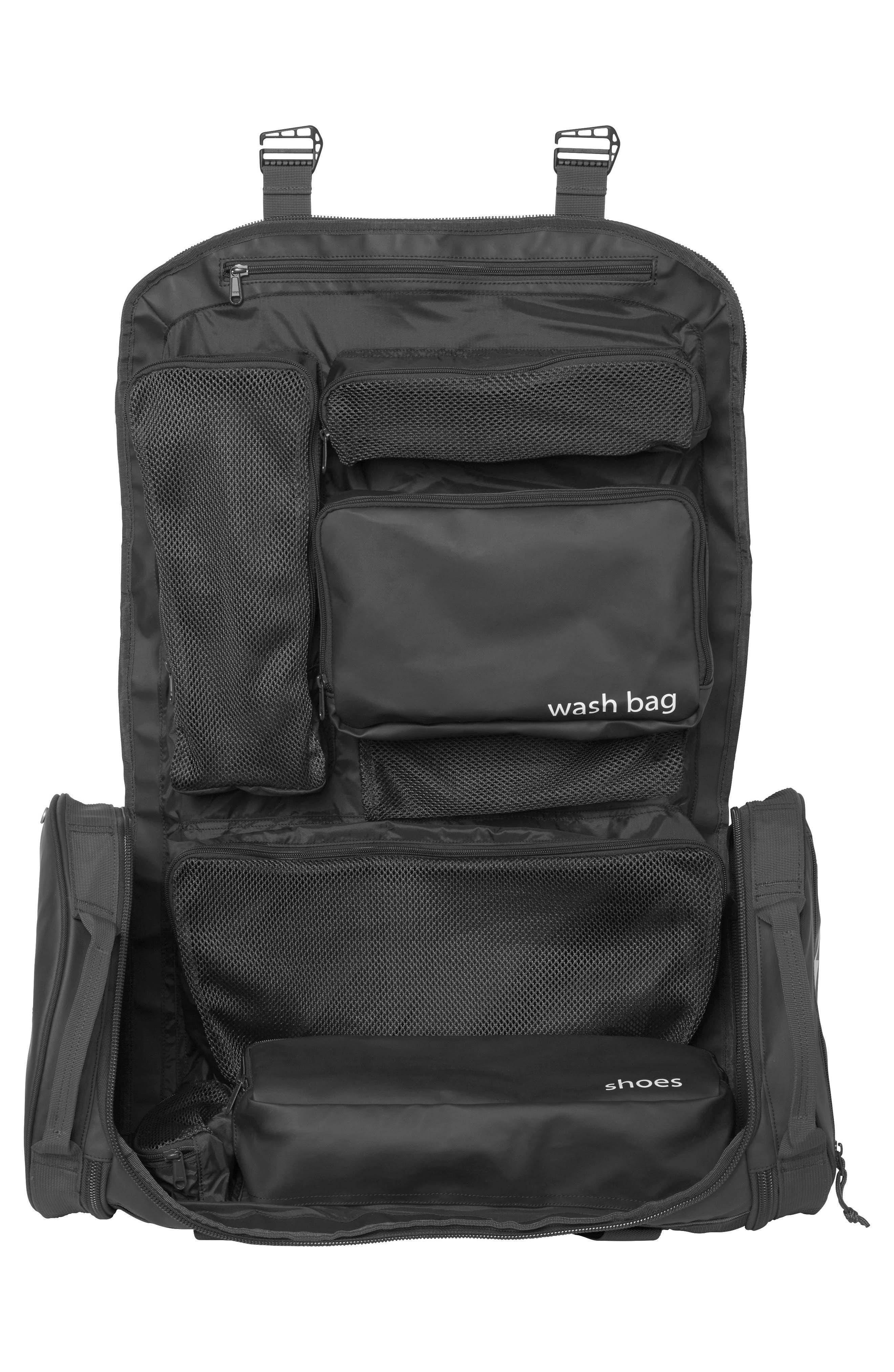 HELLY HANSEN,                             Hellypack Duffel Bag,                             Alternate thumbnail 3, color,                             BLACK