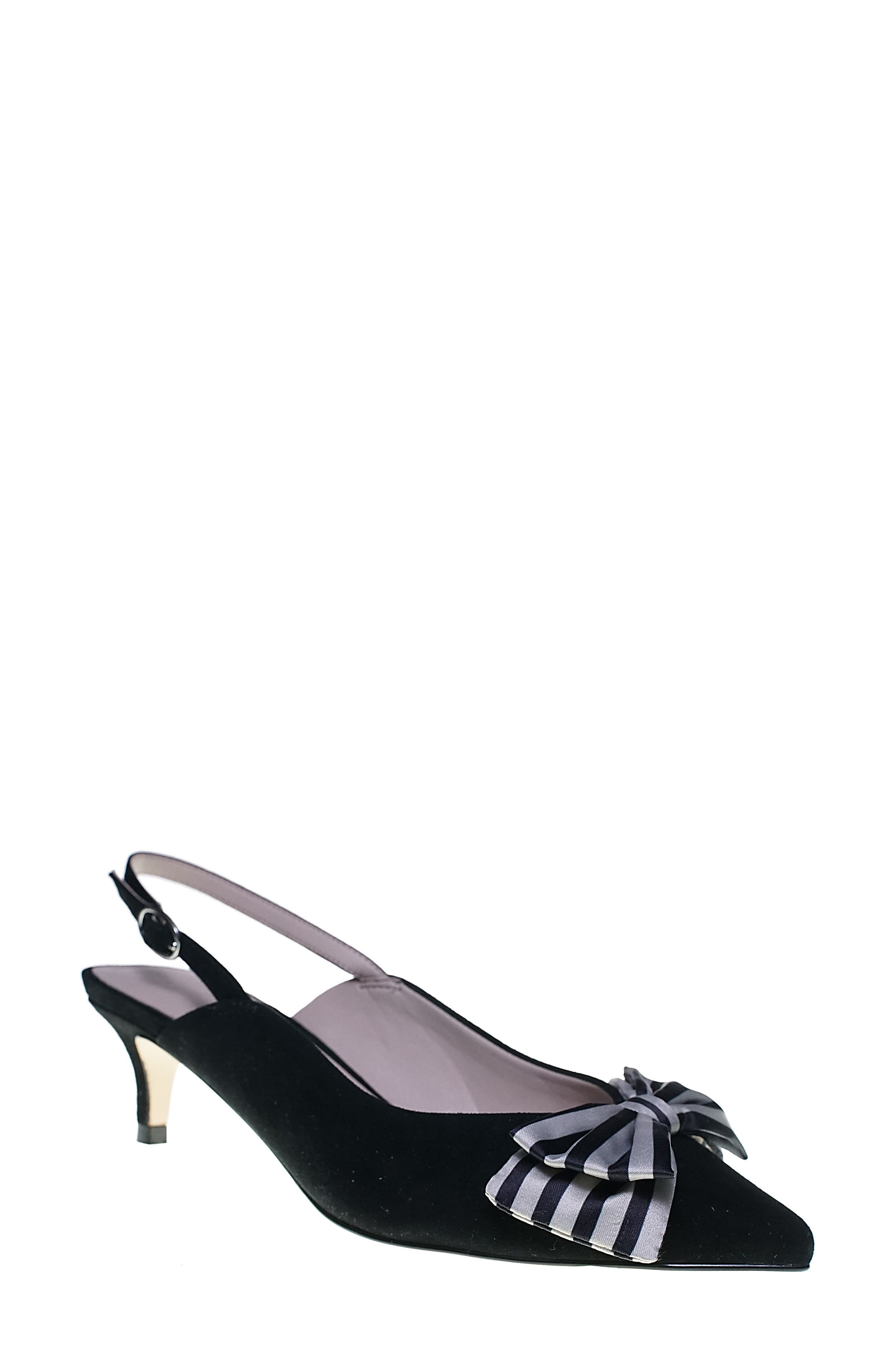 Cupcakes And Cashmere Jevlyn Pump- Black