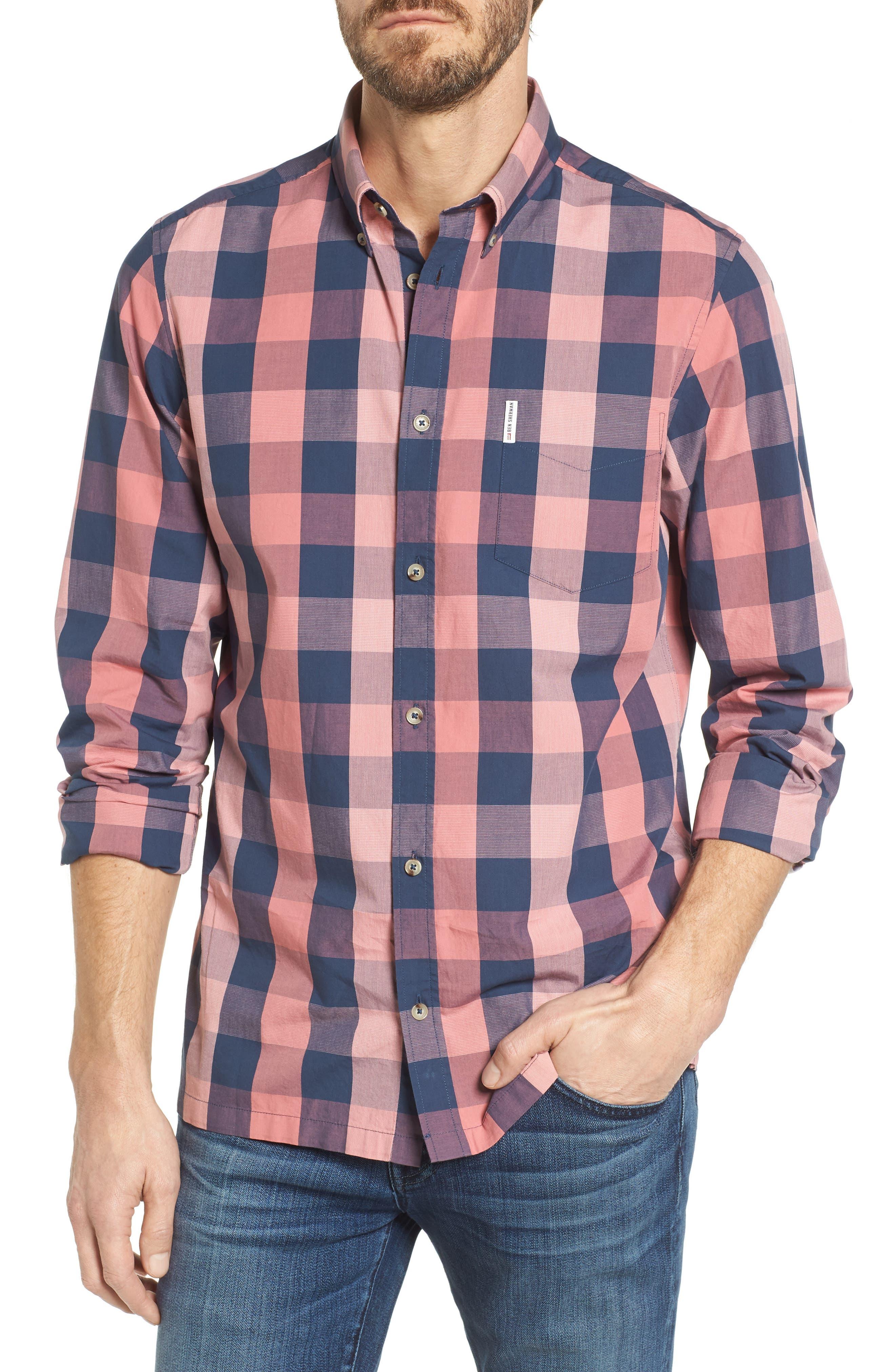 Buffalo Check Woven Shirt,                         Main,                         color,