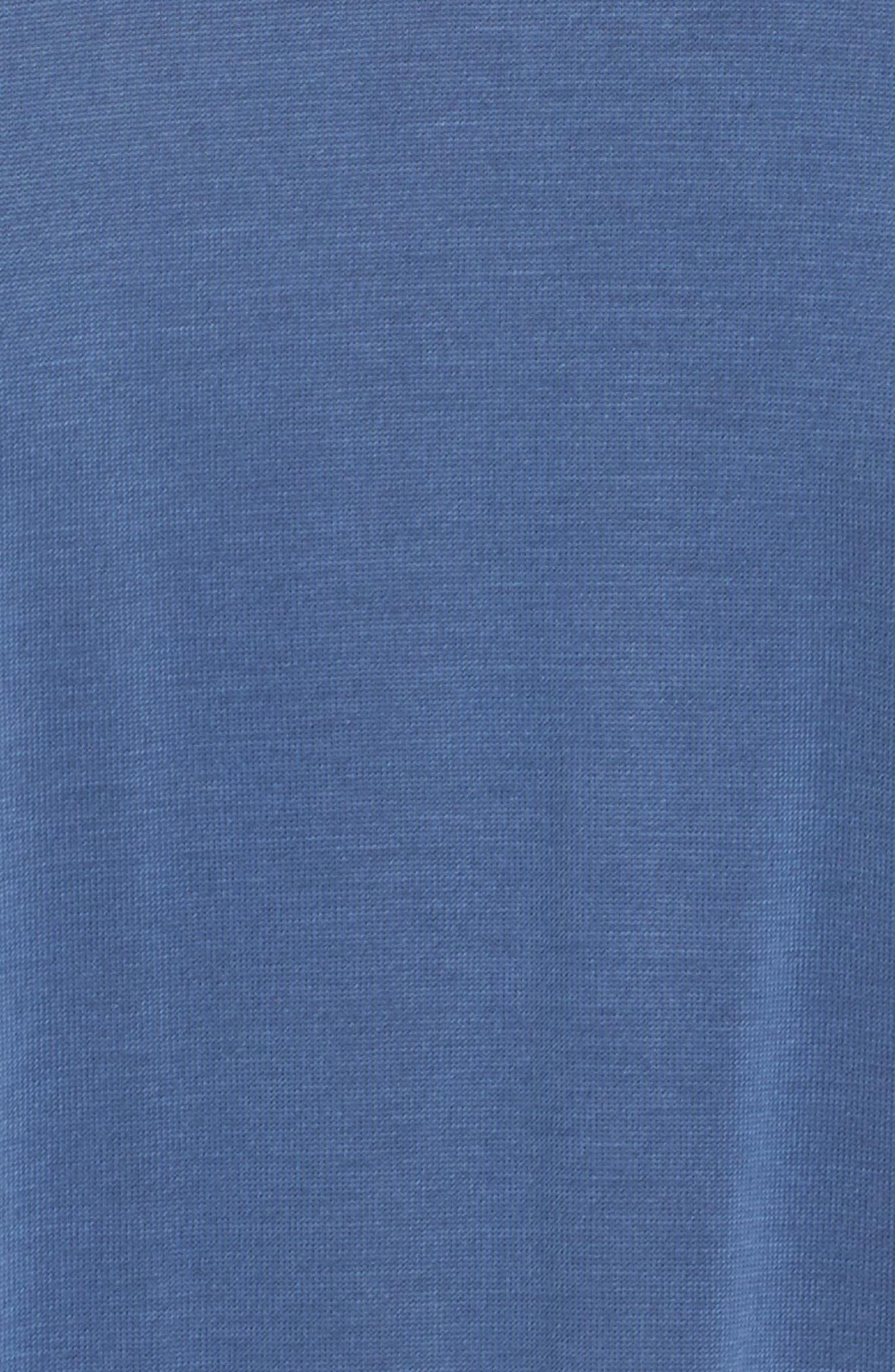 Asymmetrical Modal Blend Dress,                             Alternate thumbnail 5, color,                             492