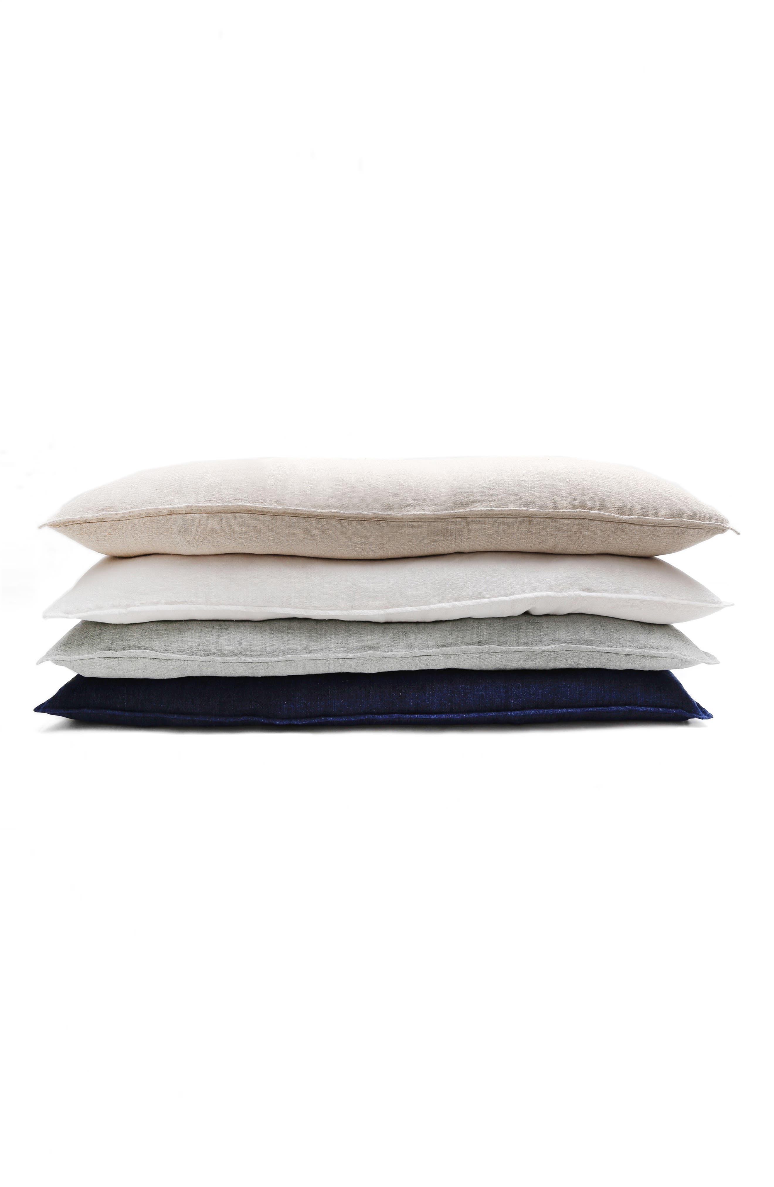 POM POM AT HOME,                             Montauk Body Pillow,                             Alternate thumbnail 2, color,                             WHITE
