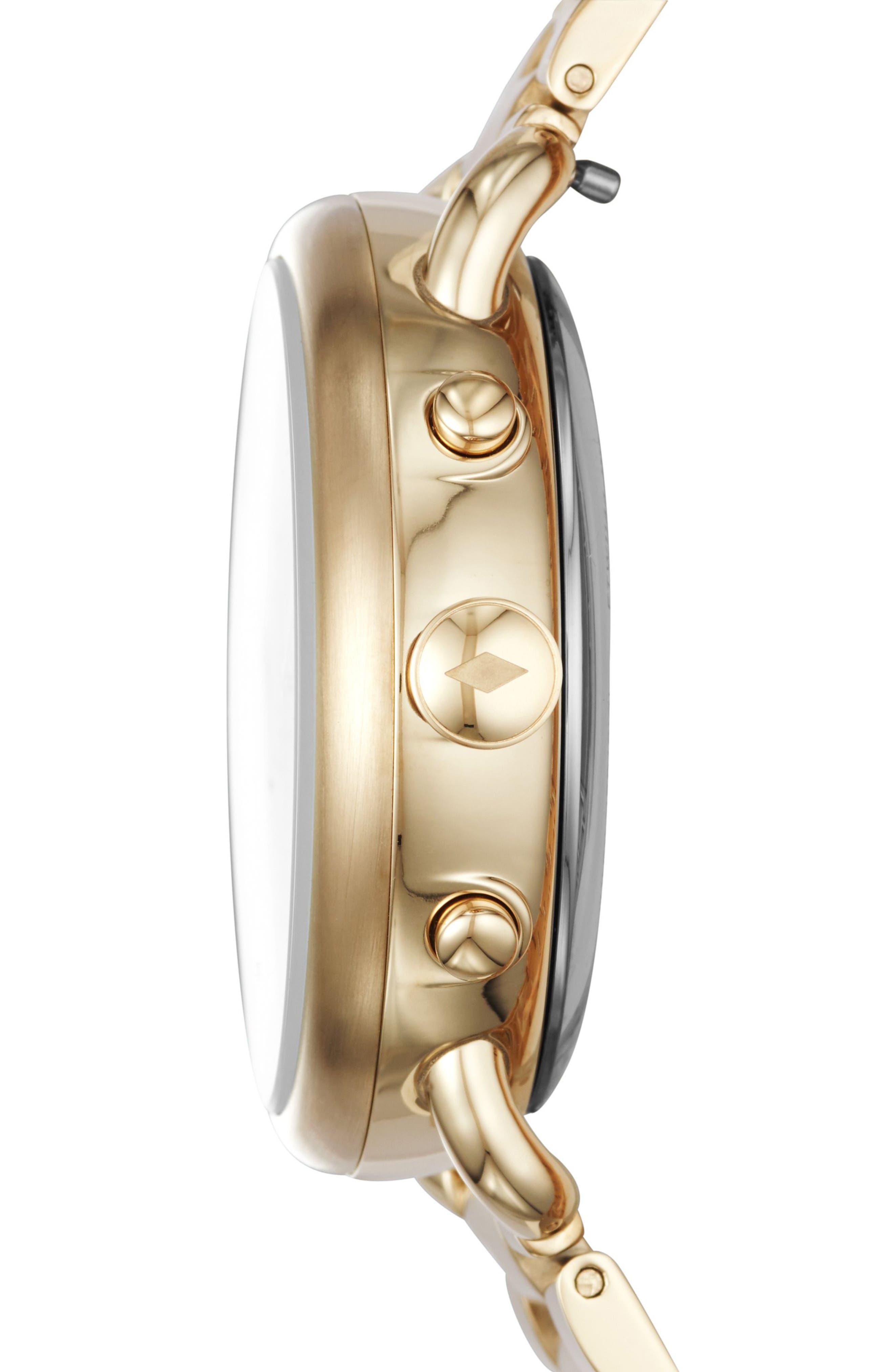 Tailor Smart Bracelet Watch, 40mm,                             Alternate thumbnail 3, color,