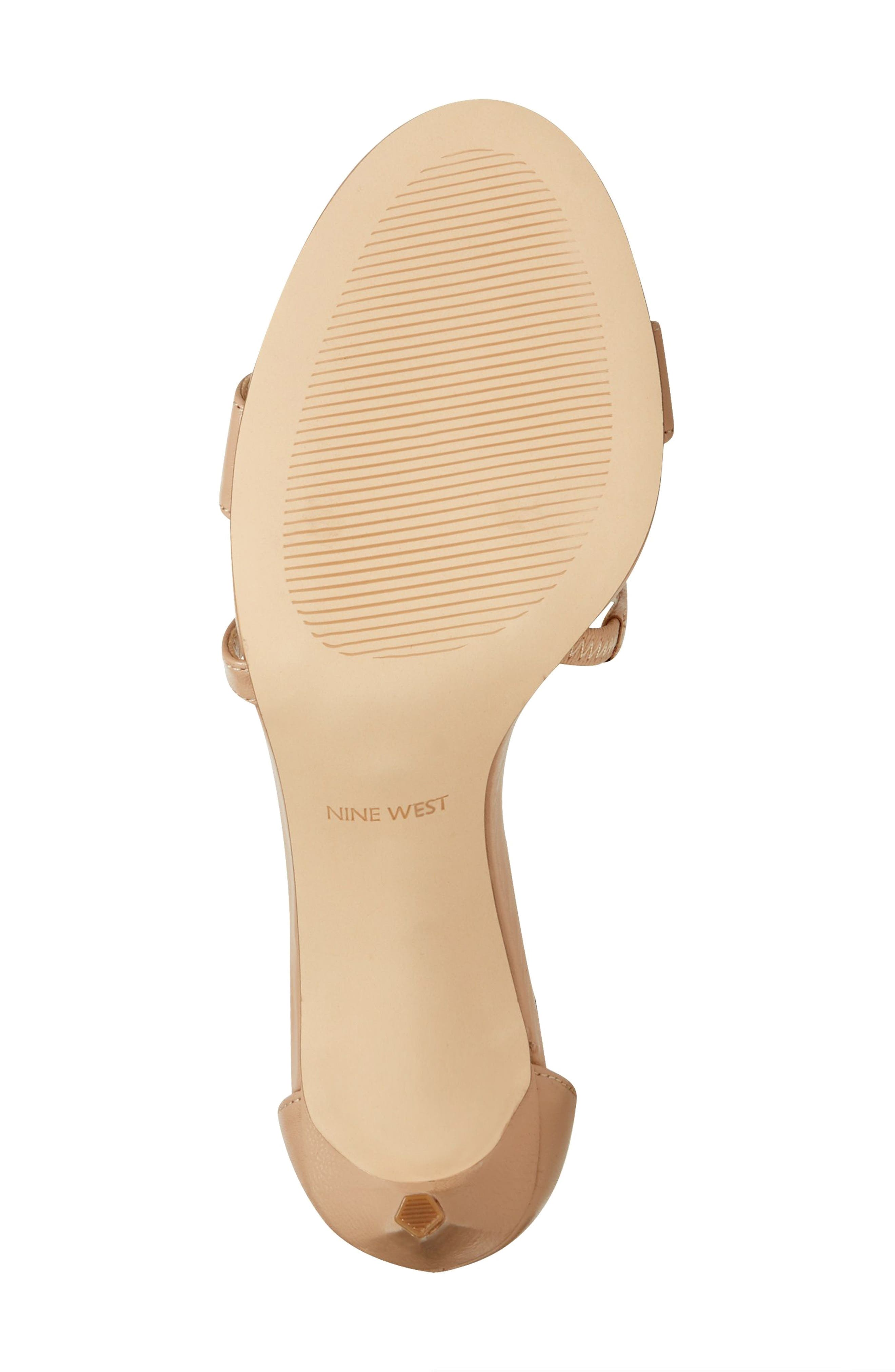 Retail Therapy Strappy Sandal,                             Alternate thumbnail 6, color,                             NATURAL LEATHER