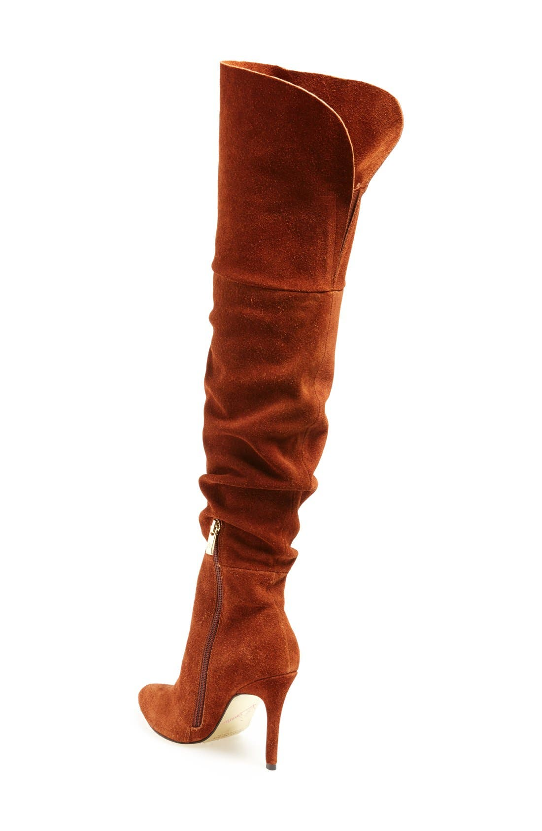 'Calissa' Over the Knee Slouch Boot,                             Alternate thumbnail 4, color,