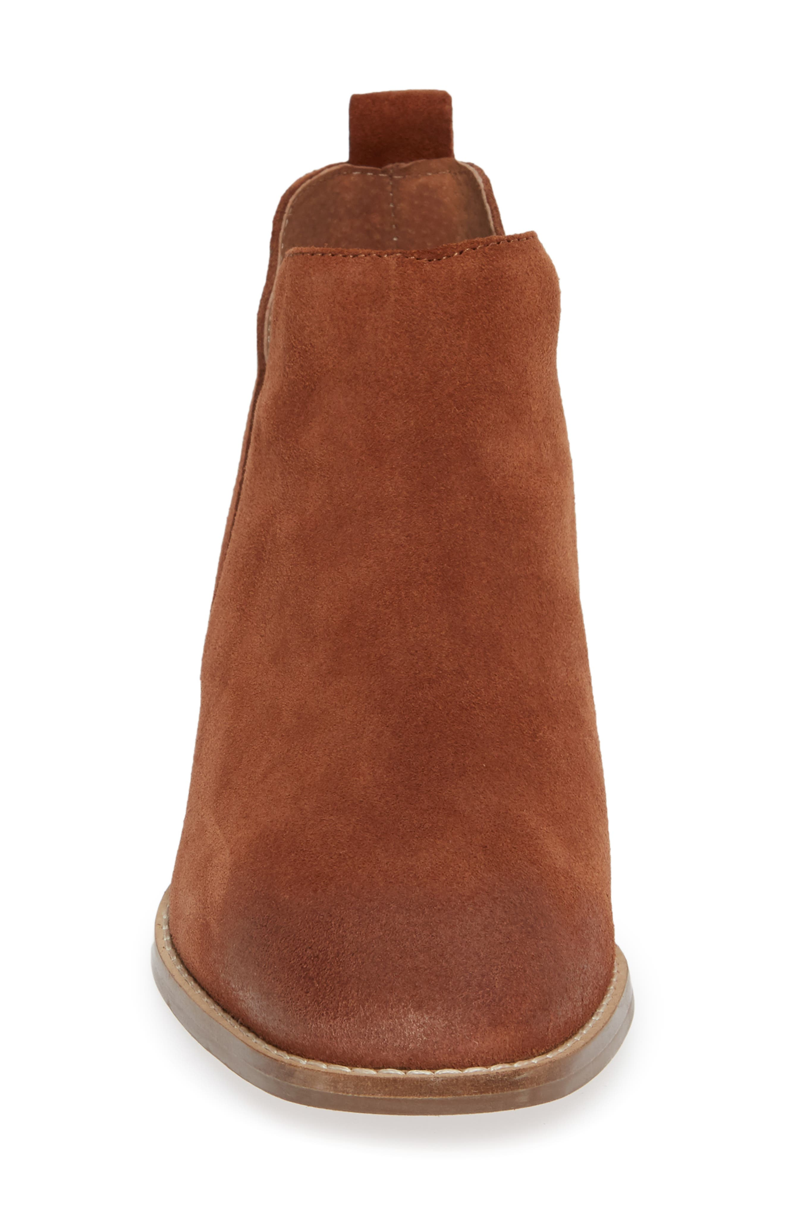 Offstage Boot,                             Alternate thumbnail 4, color,                             COGNAC SUEDE